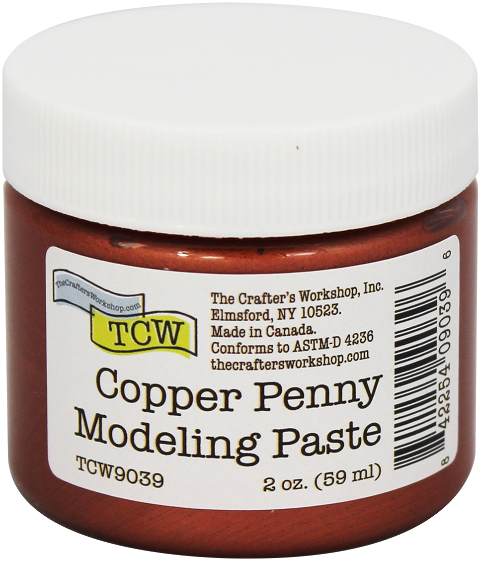 Crafter's Workshop Modeling Paste 2oz-Copper Penny