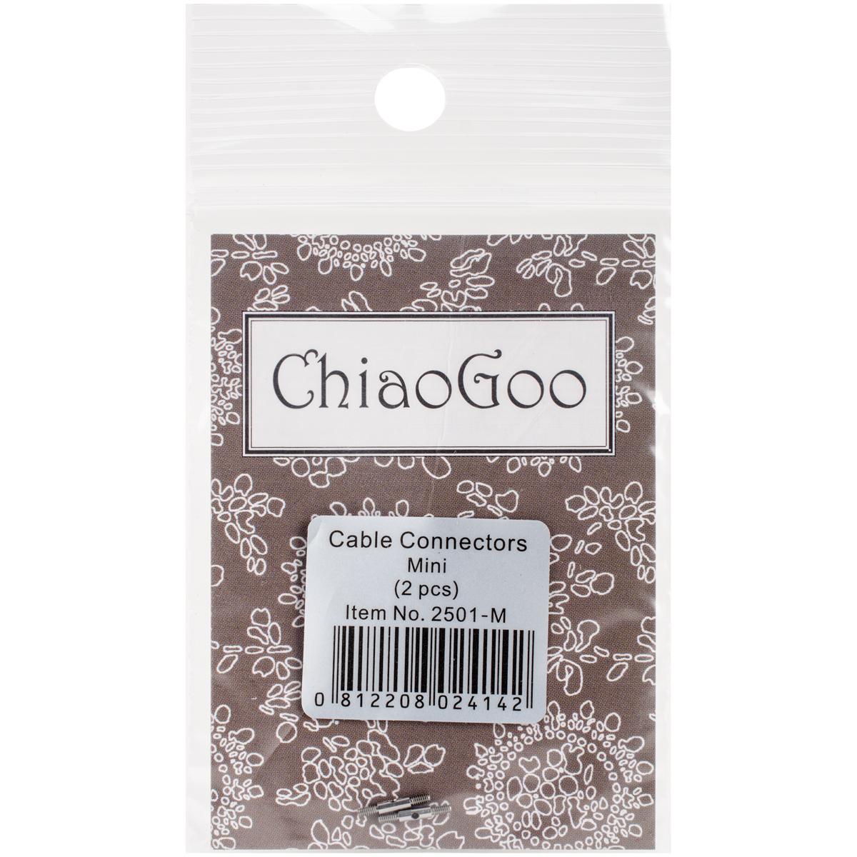 ChiaoGoo Cable Connectors-Mini 2/Pkg