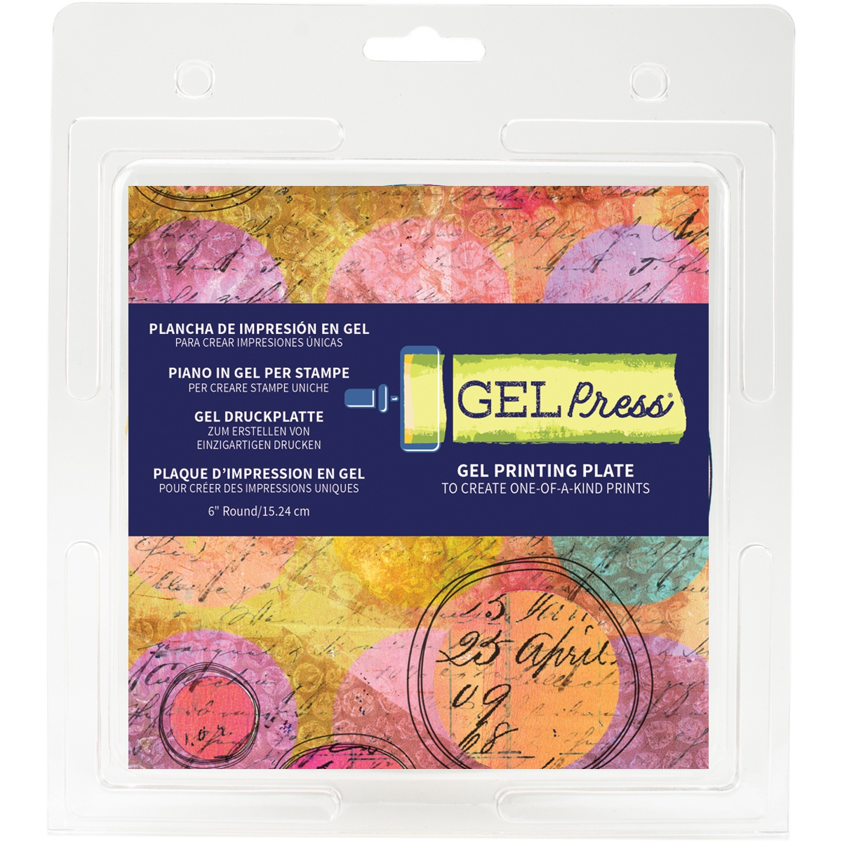 Gel Press Gel Circle 6-