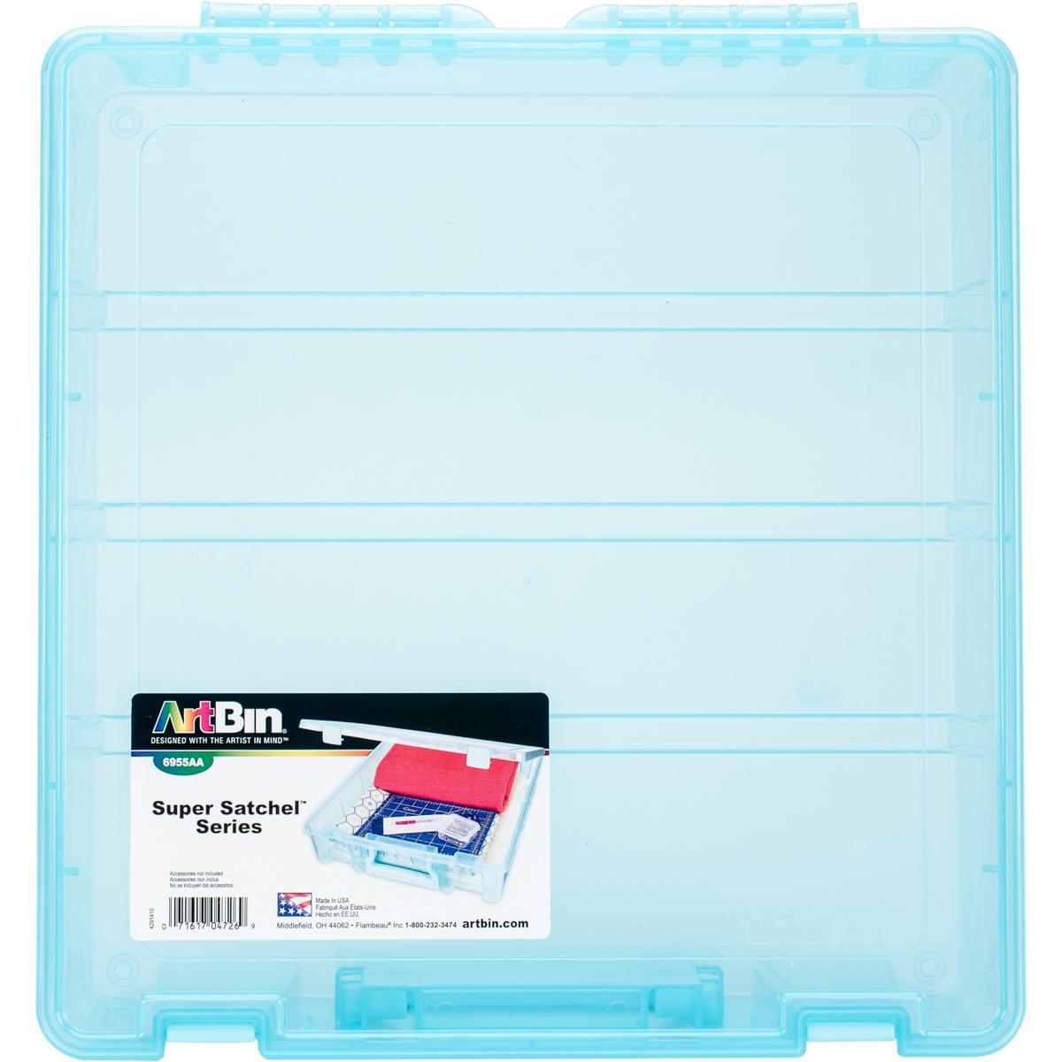 ArtBin Super Satchel Single Compartment-15.25X14X3.5 Aqua Mist