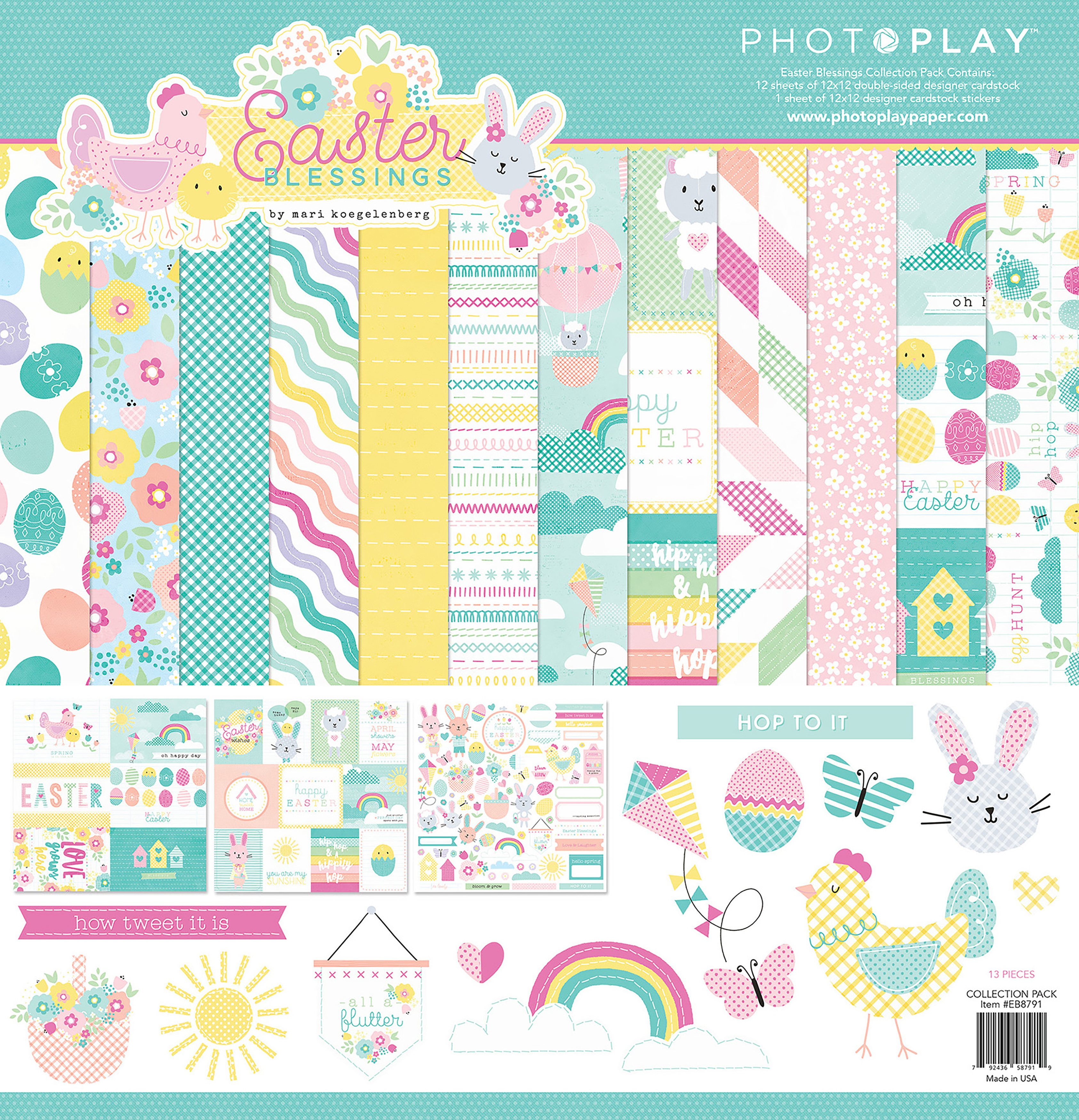 PhotoPlay Collection Pack 12X12-Easter Blessings