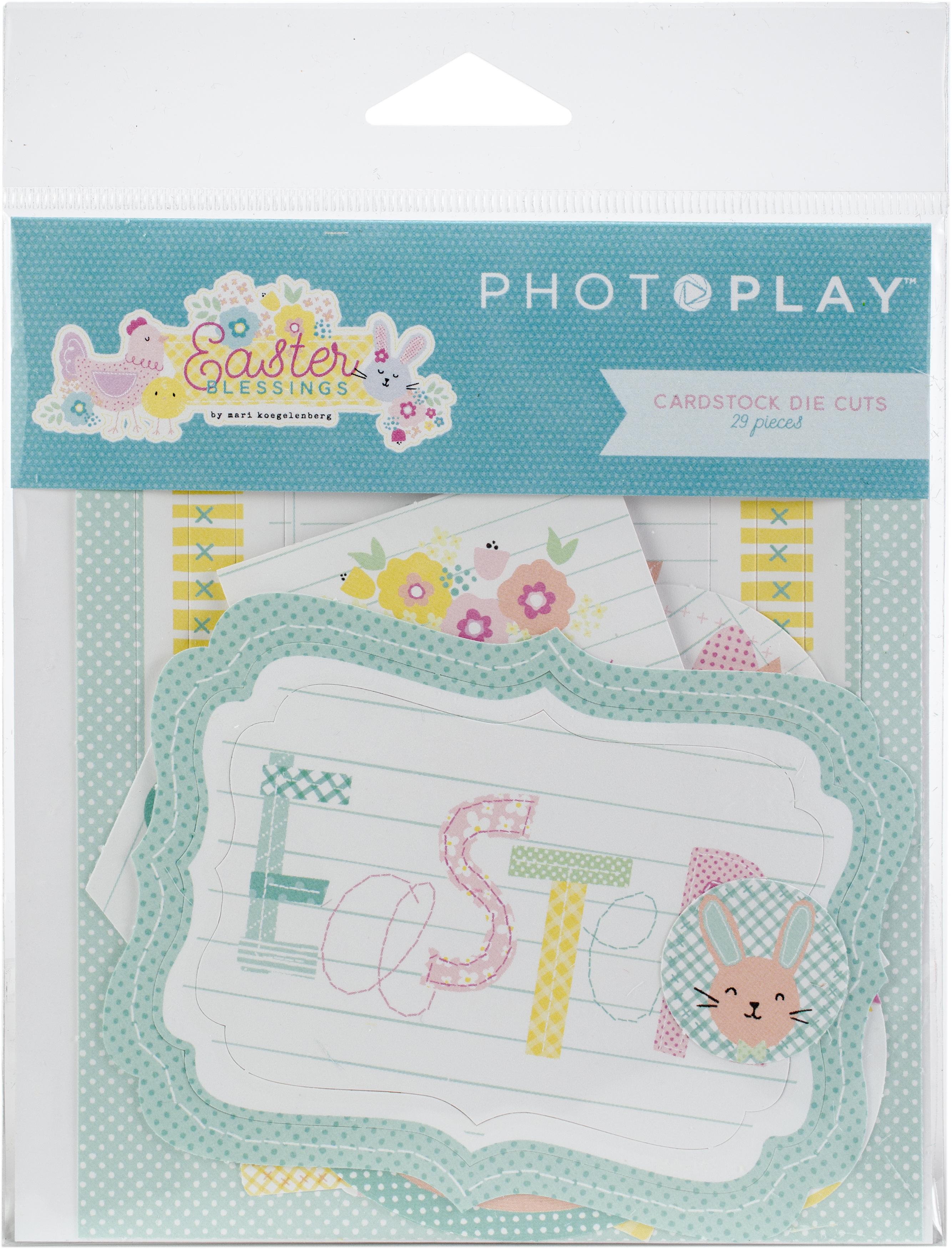 Photo Play - Easter Blessings Cardstock Die Cuts
