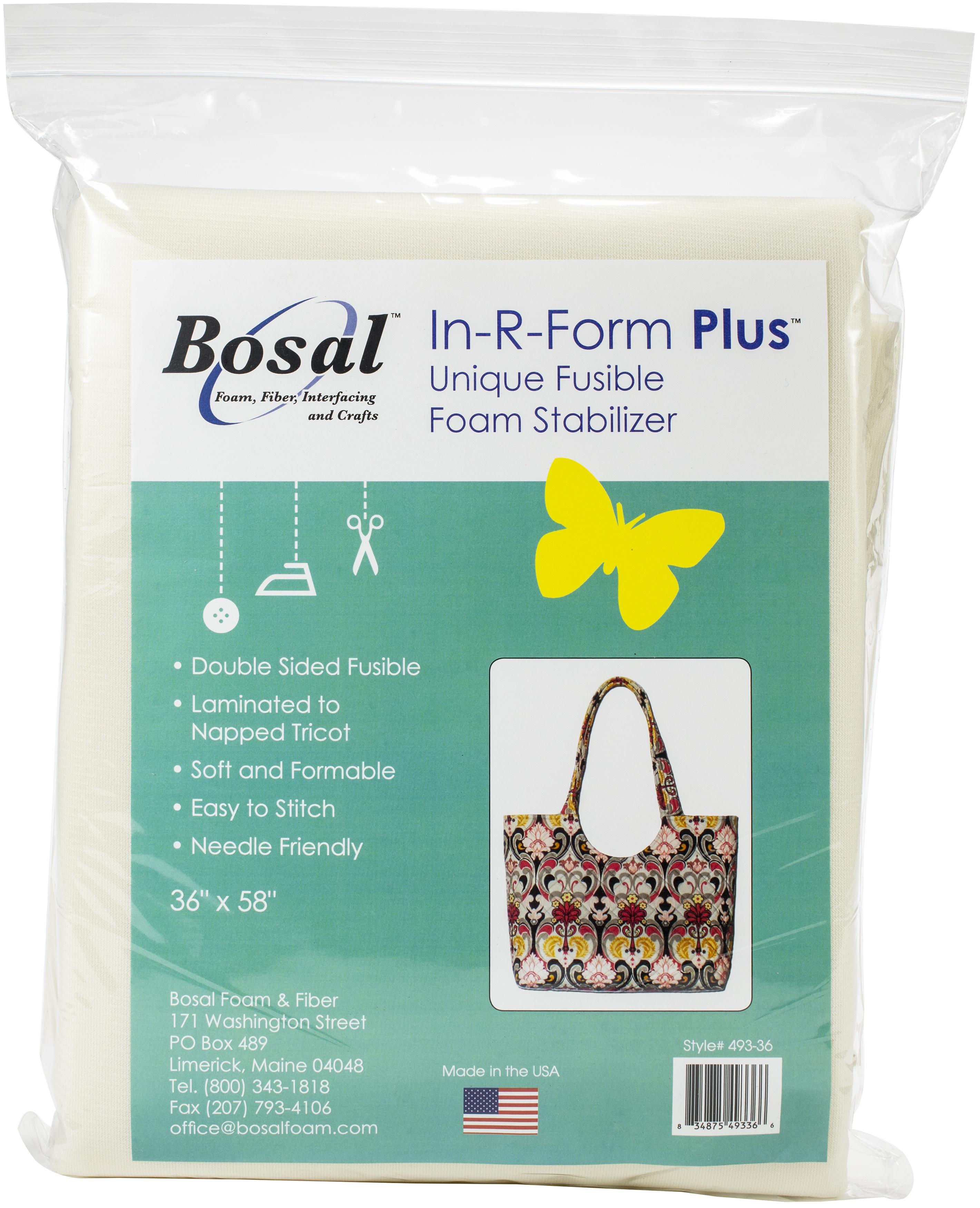 Bosal In-R-Form Plus Unique Fusible Foam Stabilizer-36X58