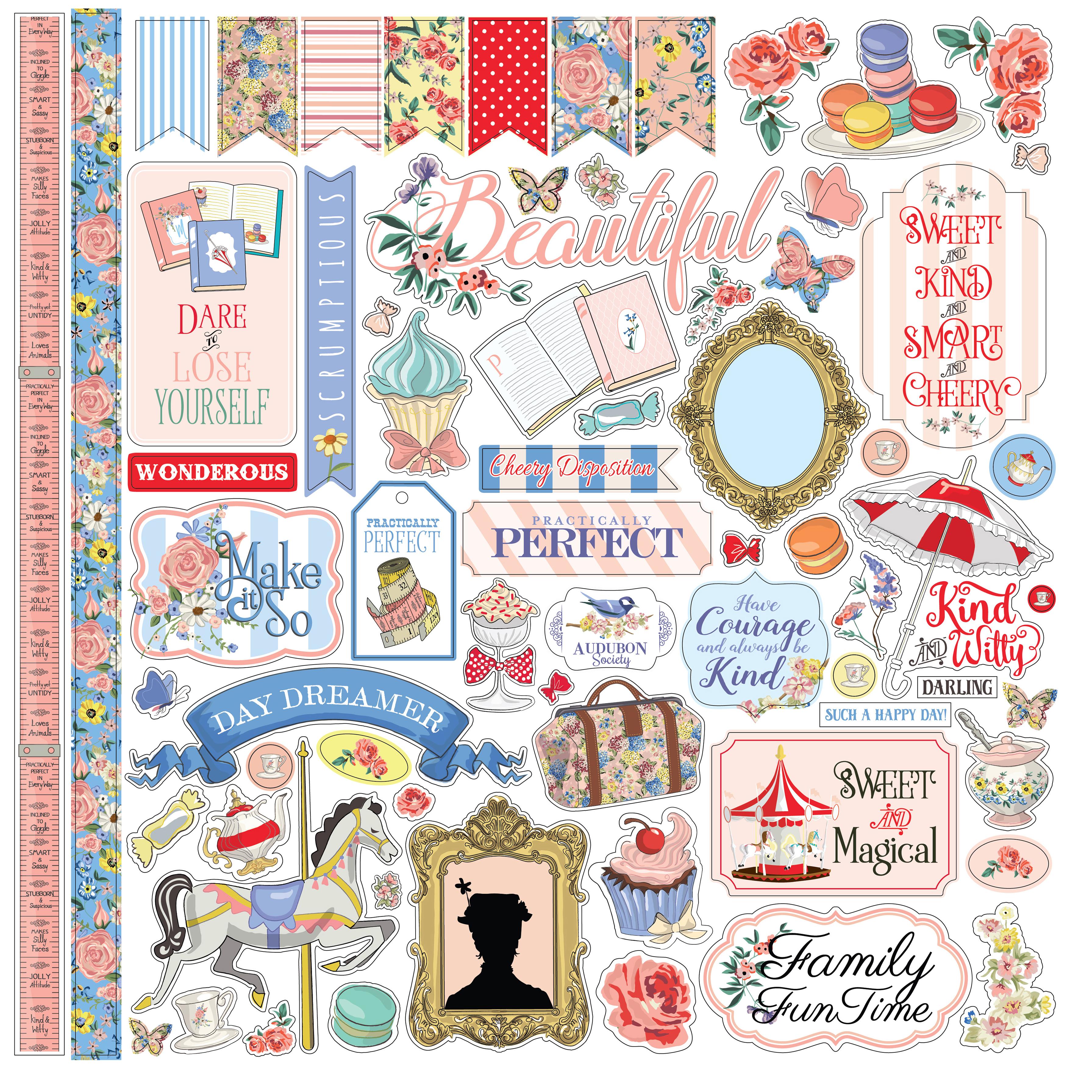 Carta Bella Practically Perfect Element Stickers