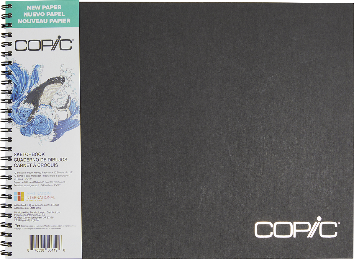 Copic Sketchbook 9X12-50 Sheets