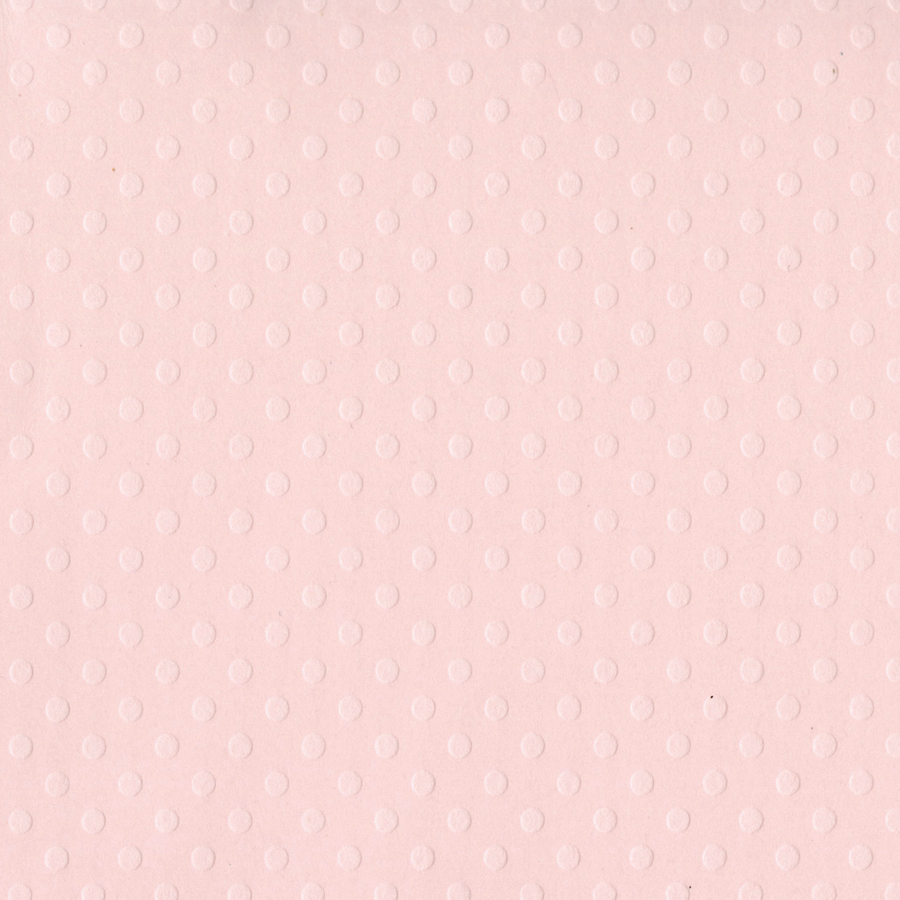 Bazzill Dotted Swiss Cardstock 12X12-Soft Shell/Dotted Swiss