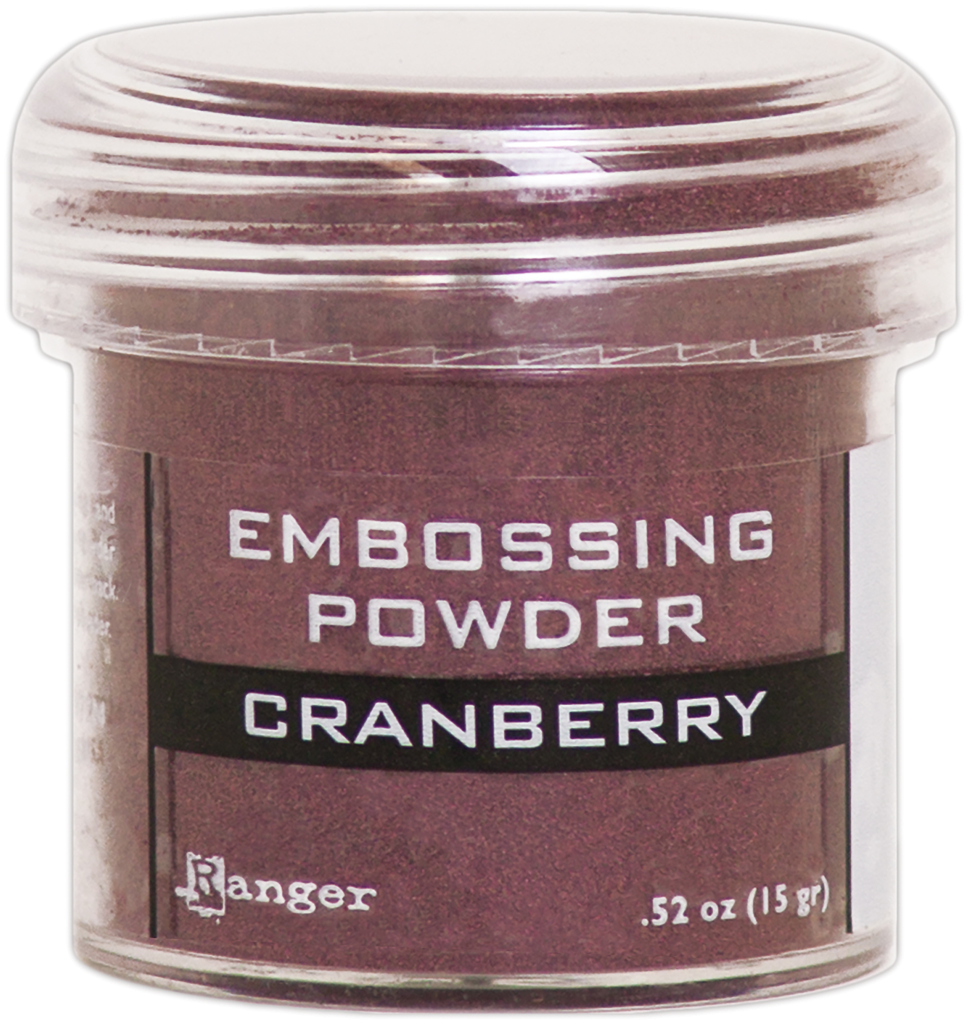 CRANBERRY -EMBOSSING POWDER