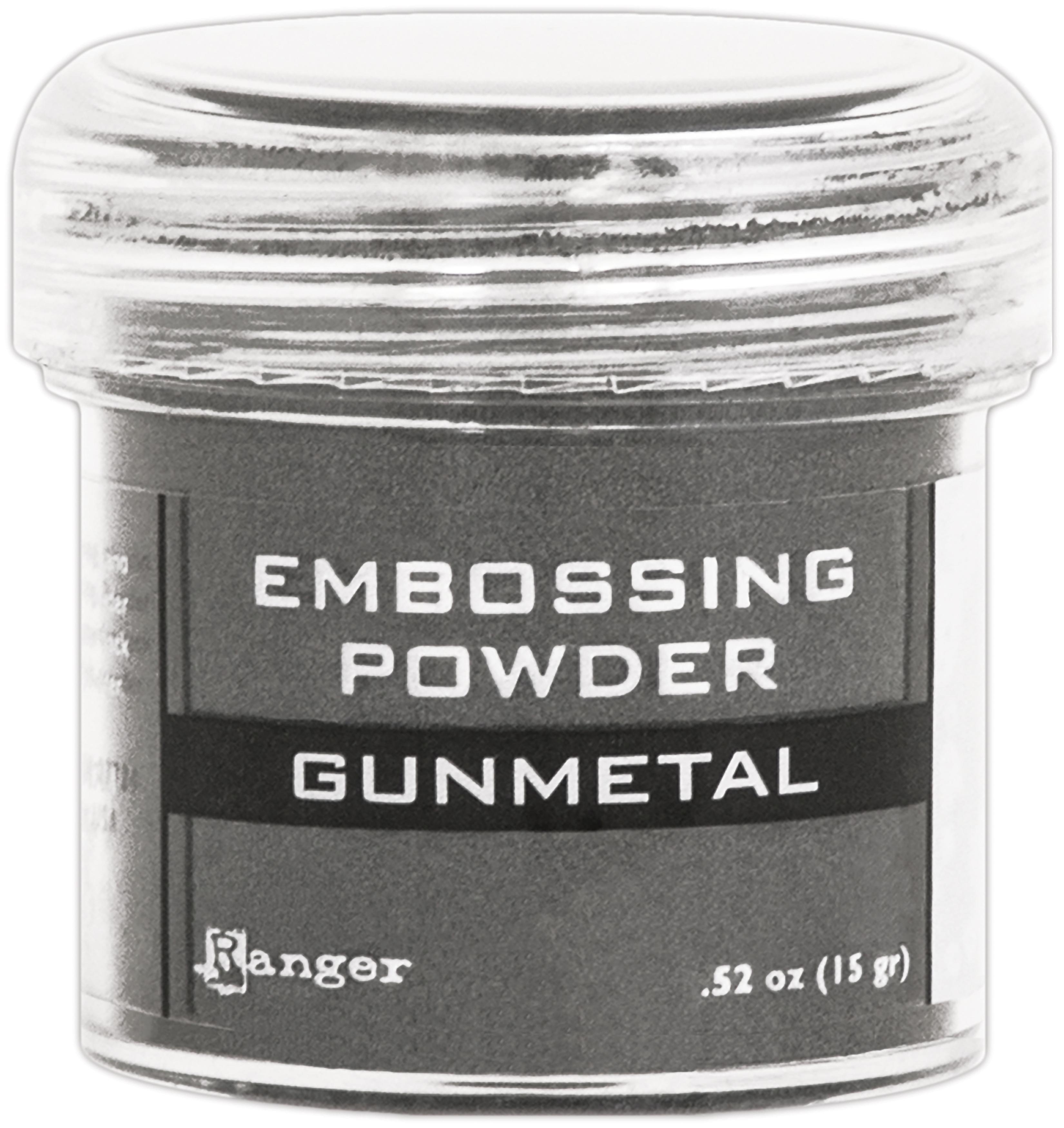 Ranger Embossing Powder-Gunmetal Metallic