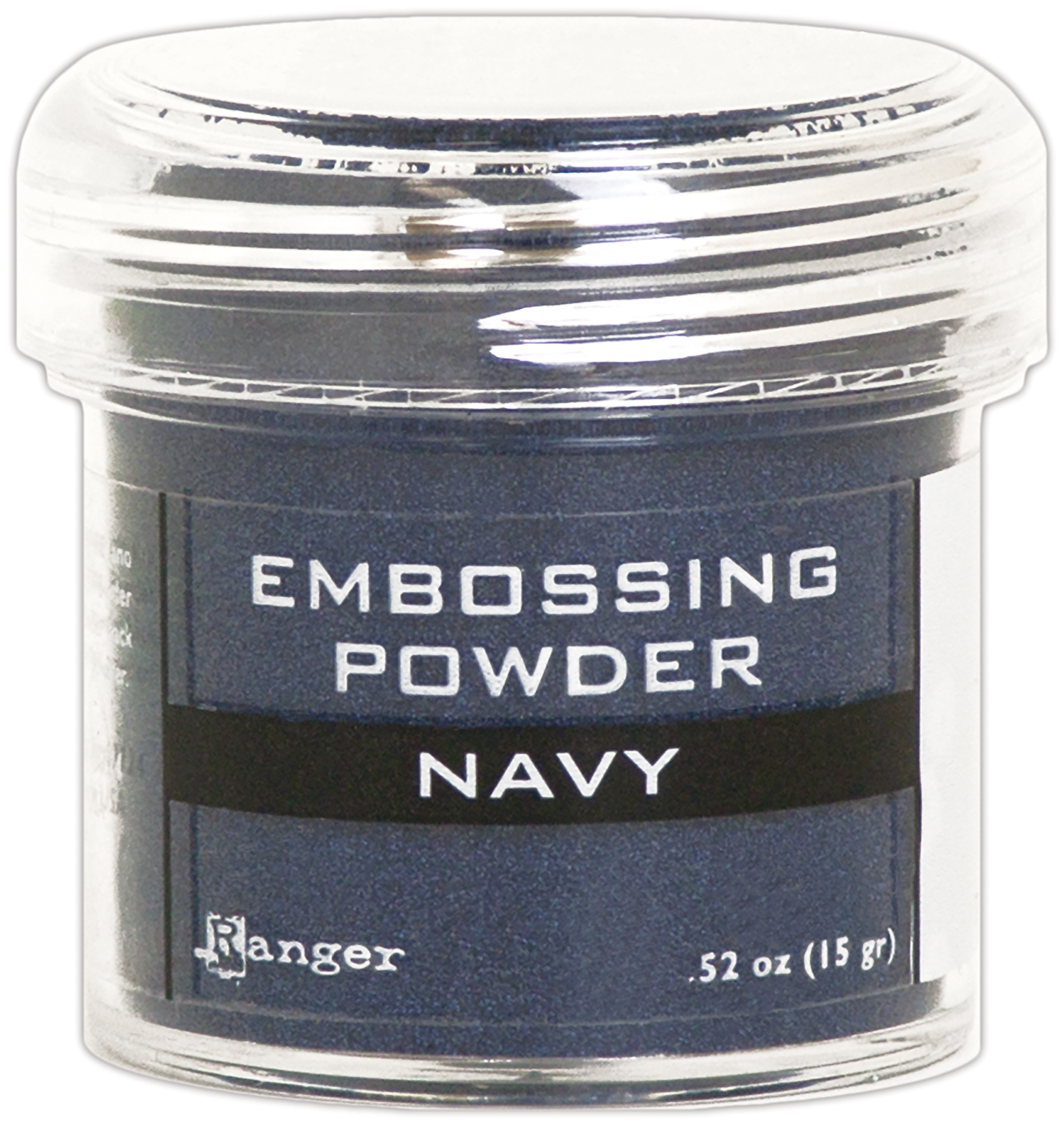 NAVY METLL-EMBOSSING POWDER