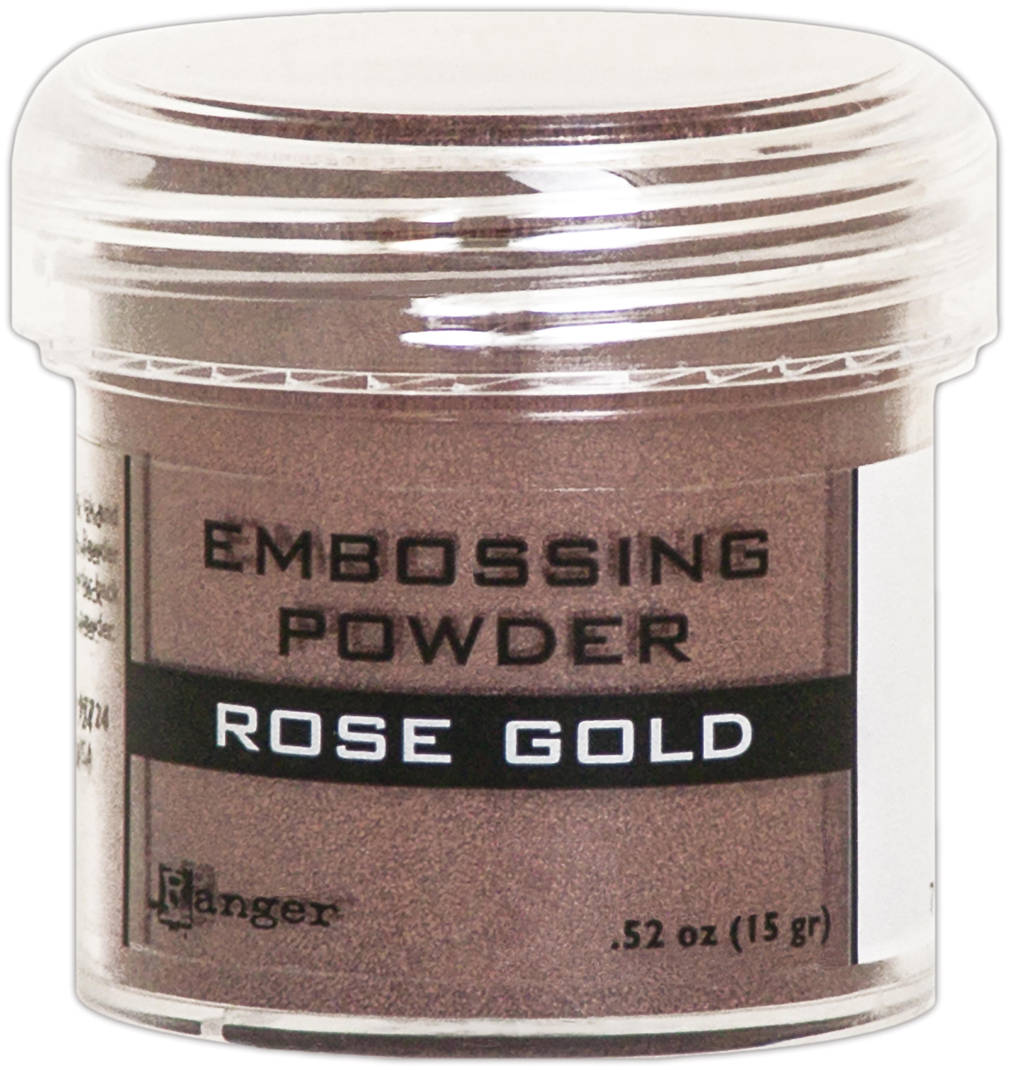 Ranger Embossing Powder-Rose Gold Metallic
