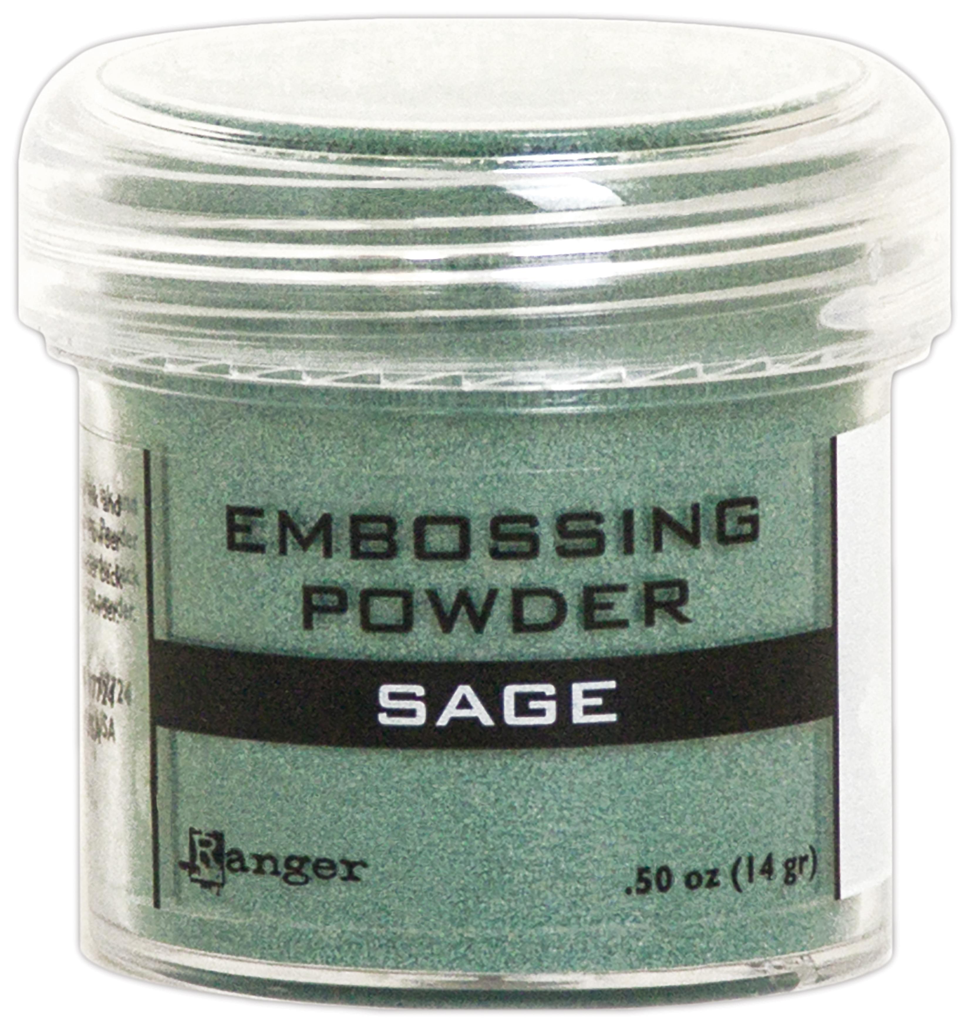 SAGE      -EMBOSSING POWDER