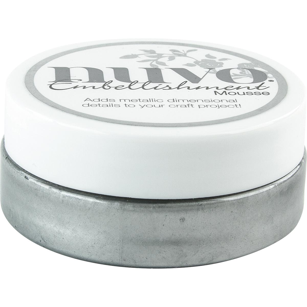 Nuvo Embellishment Mousse-Gunmetal Grey