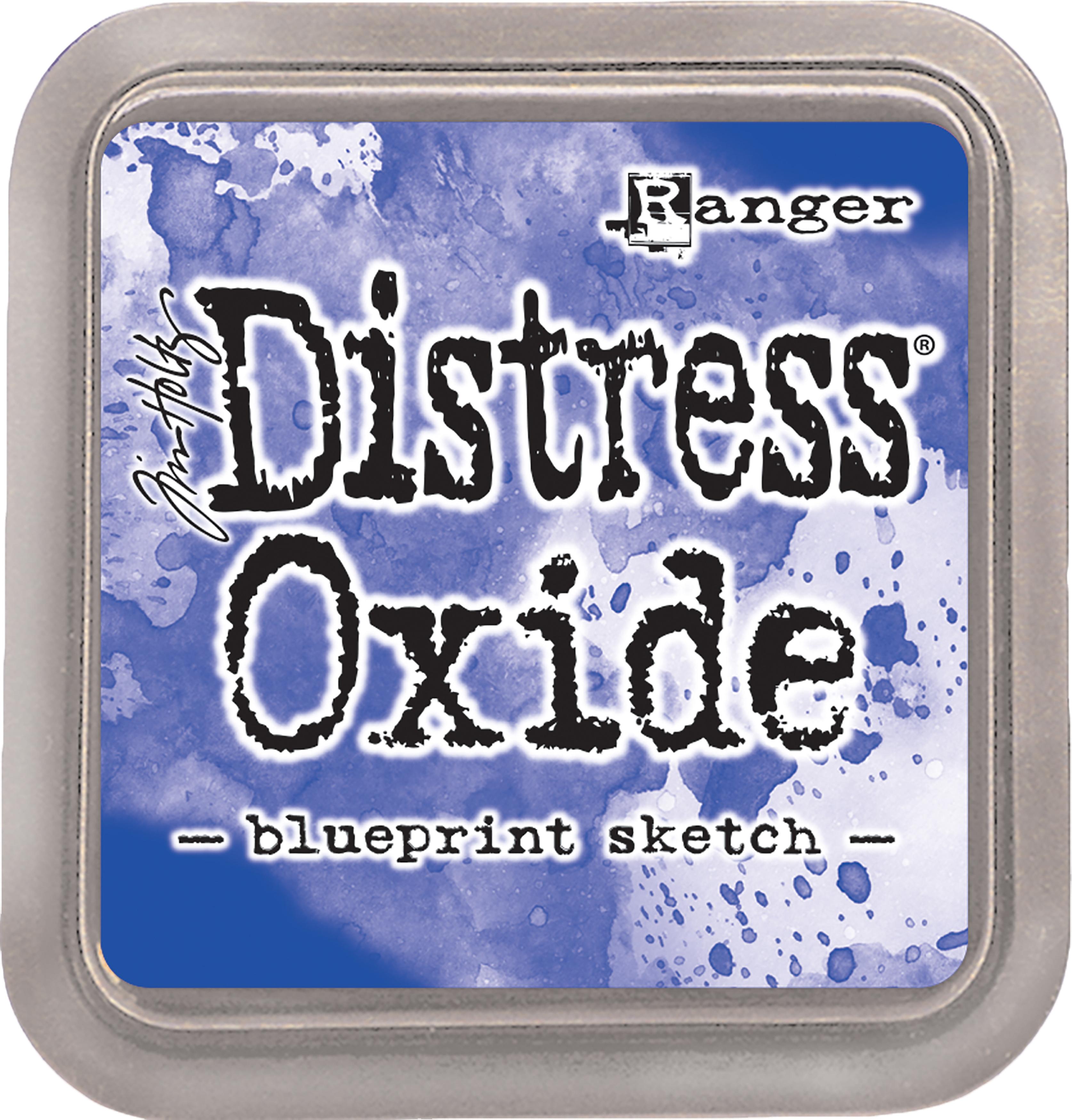 Tim Holtz Distress Oxides Ink Pad-Blueprint Sketch