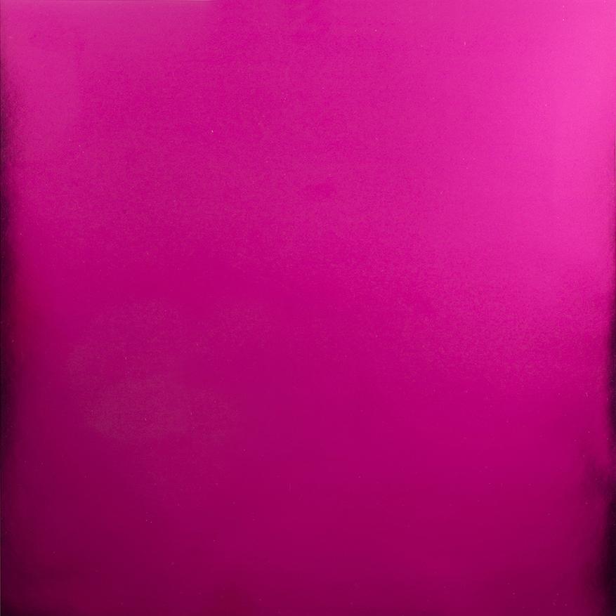Hot Pink Foil Cardstock