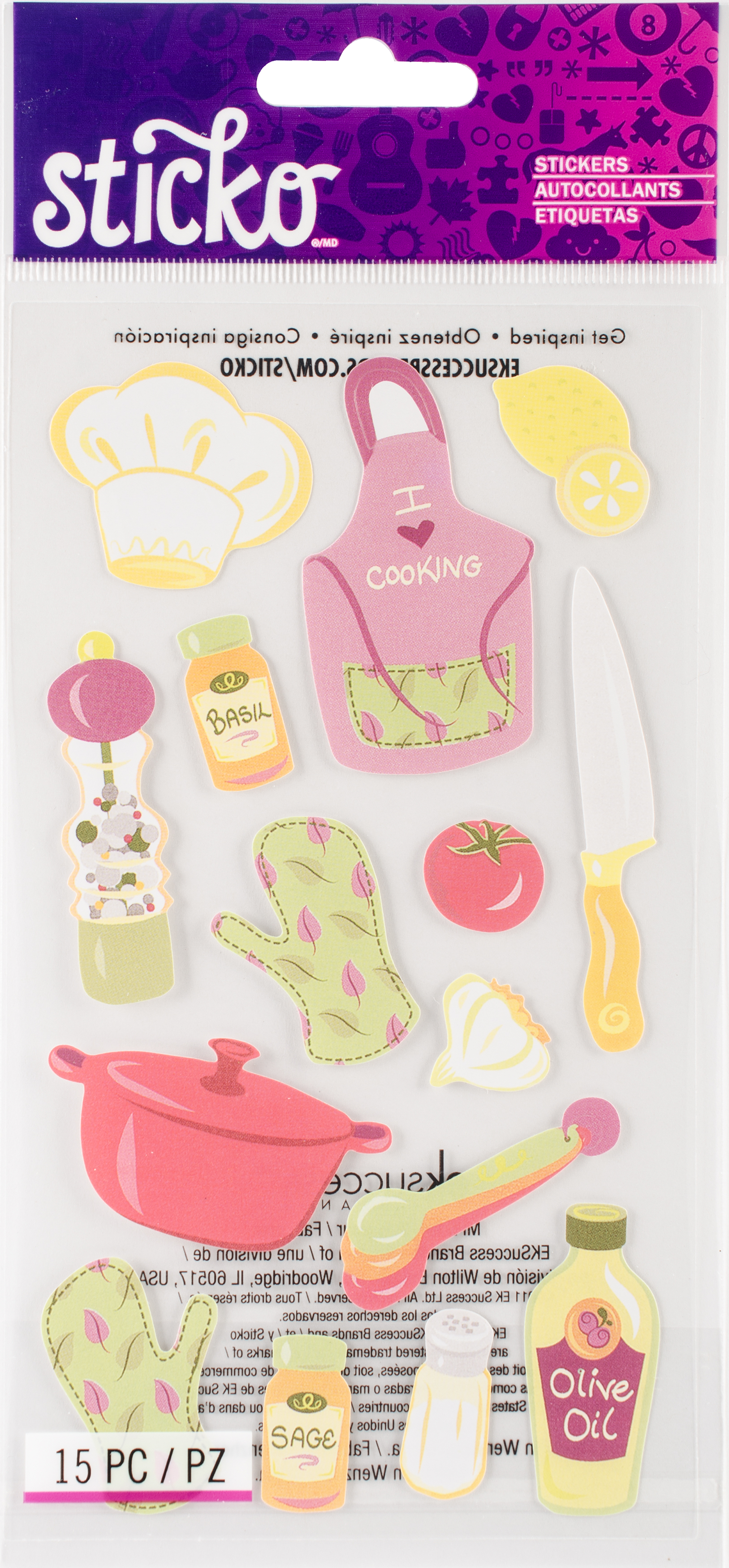 Sticko Stickers-Cooking
