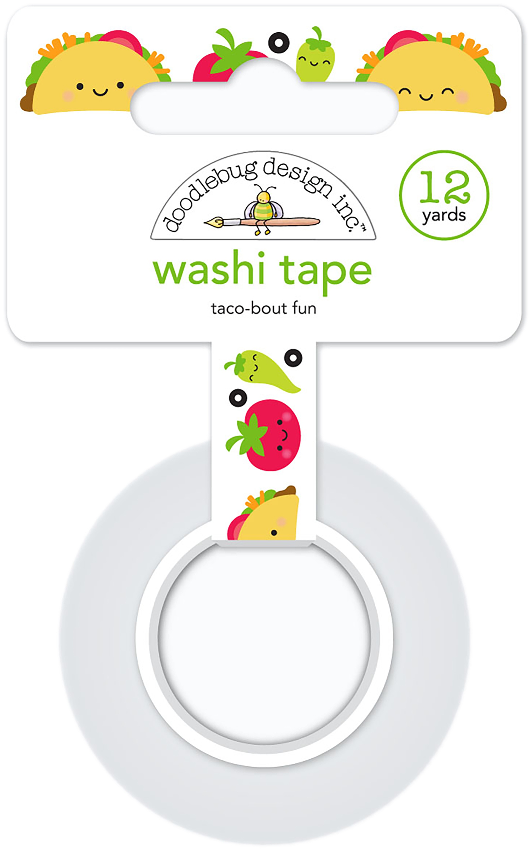 EMB - SO MUCH PUN WASHI TAPE TACO-BOUT FUN