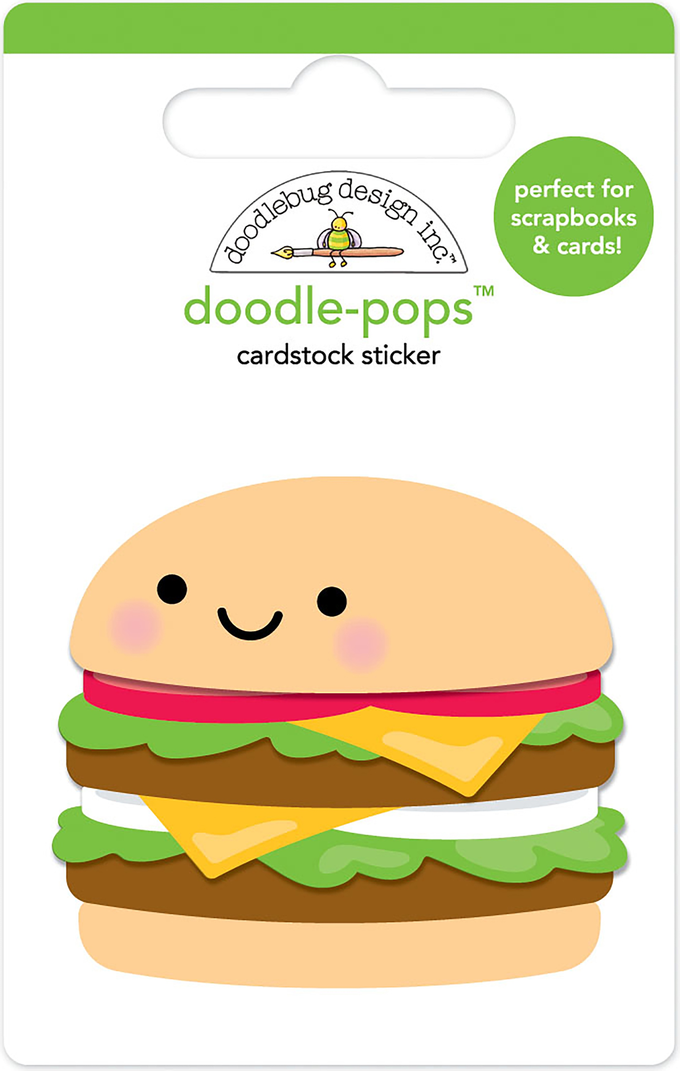 Doodlebug Doodle-Pops 3D Stickers-Well Done
