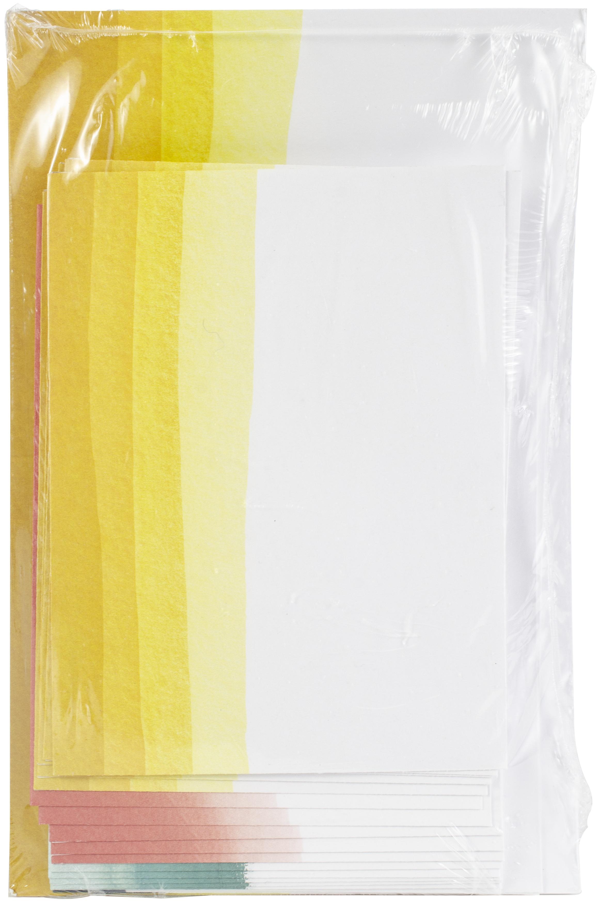 Dip-Dyed Cards/Envelopes