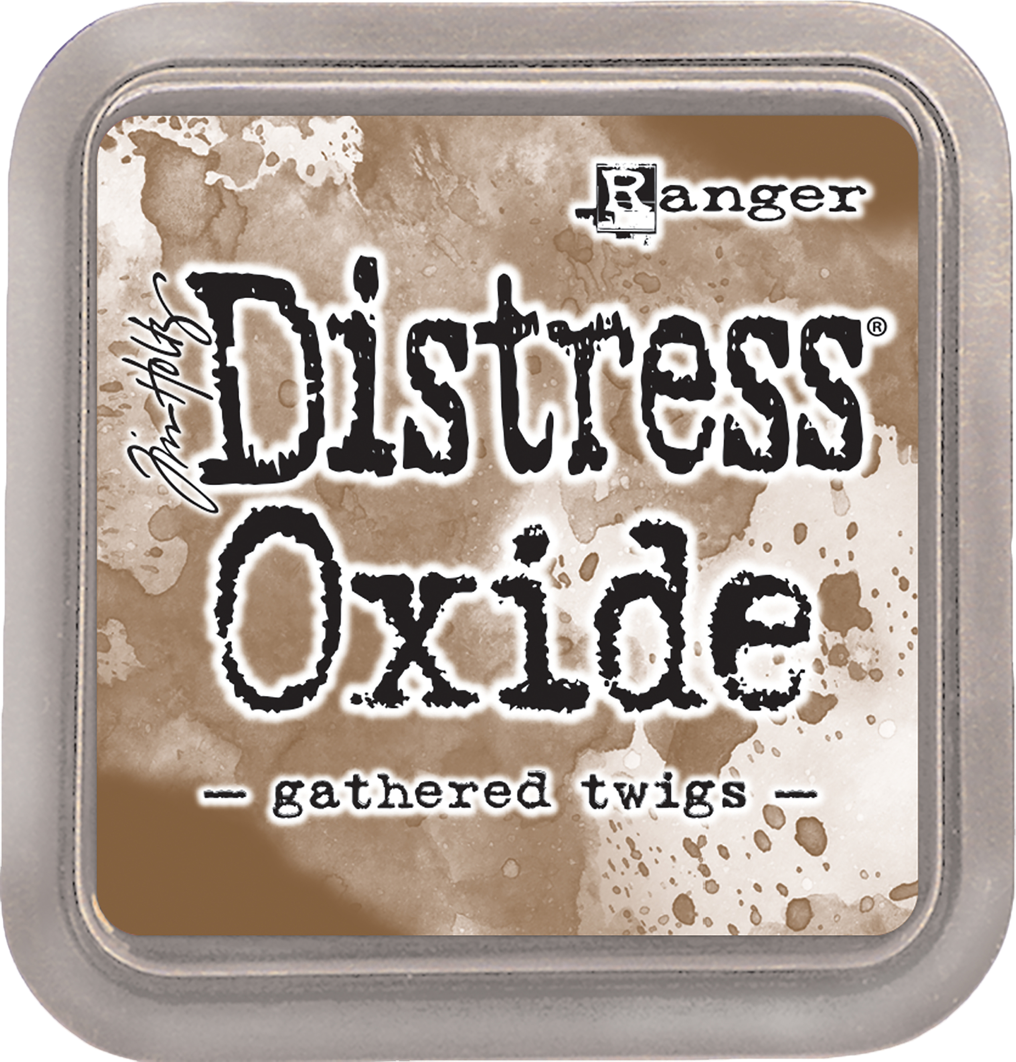 Tim Holtz Distress Oxides Ink Pad-Gathered Twigs