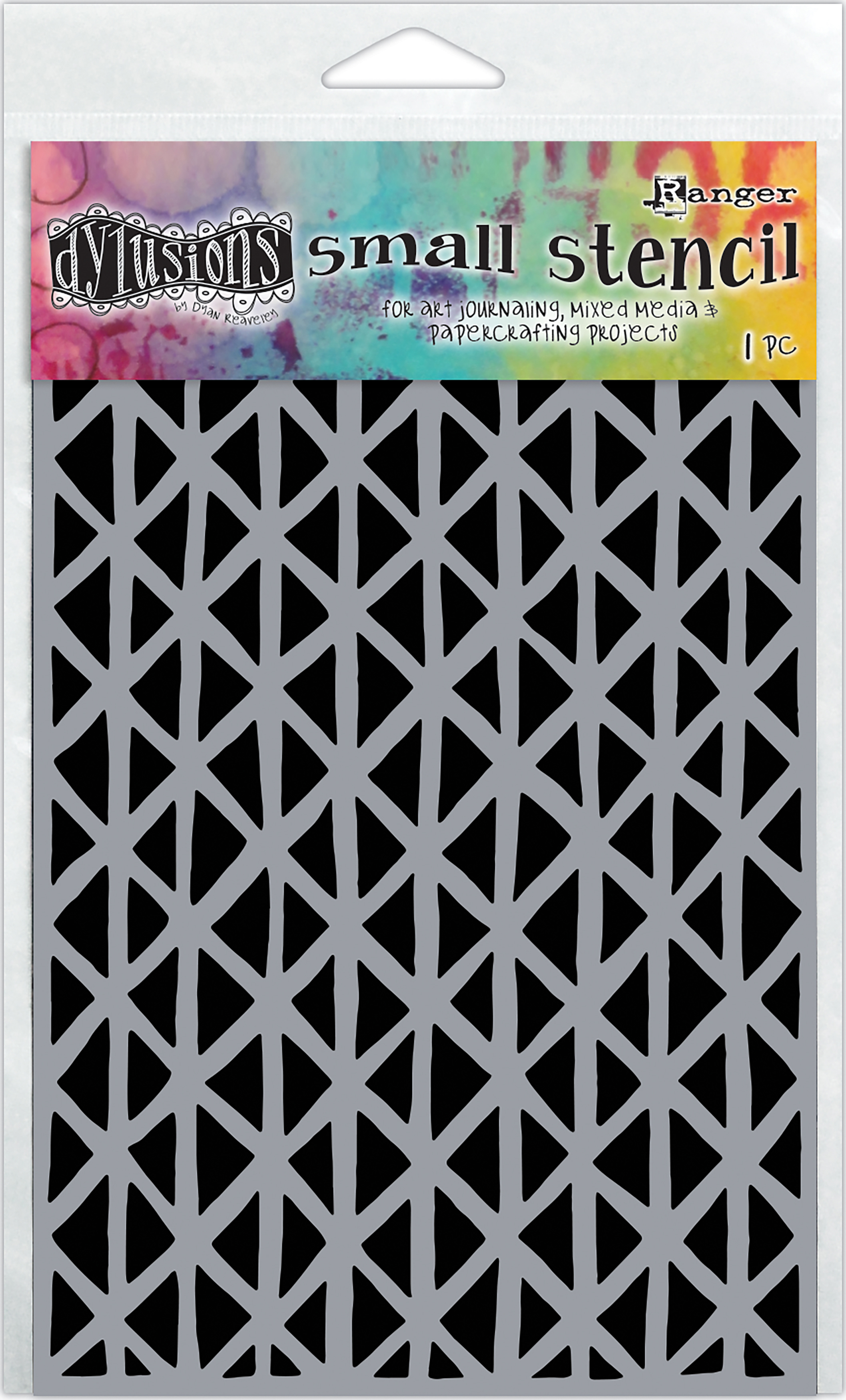Dyan Reaveley's Dylusions Stencils 5X8-Angles