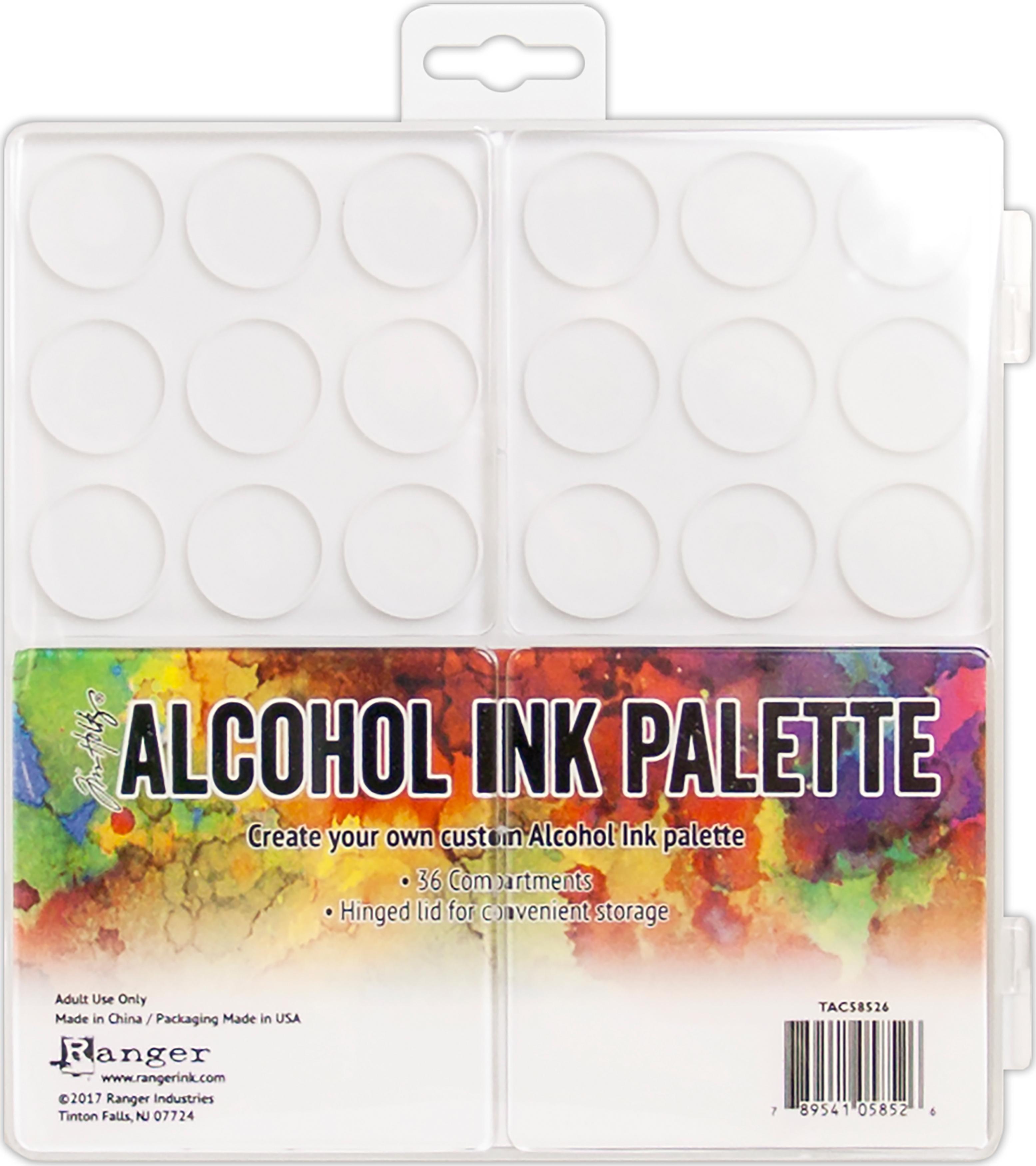 Alcohol Ink Palette