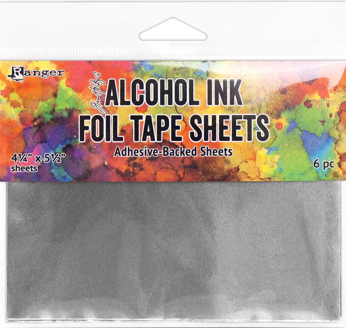 Tim Holtz Alcohol Ink Foil Tape Sheets 4.25X5.25