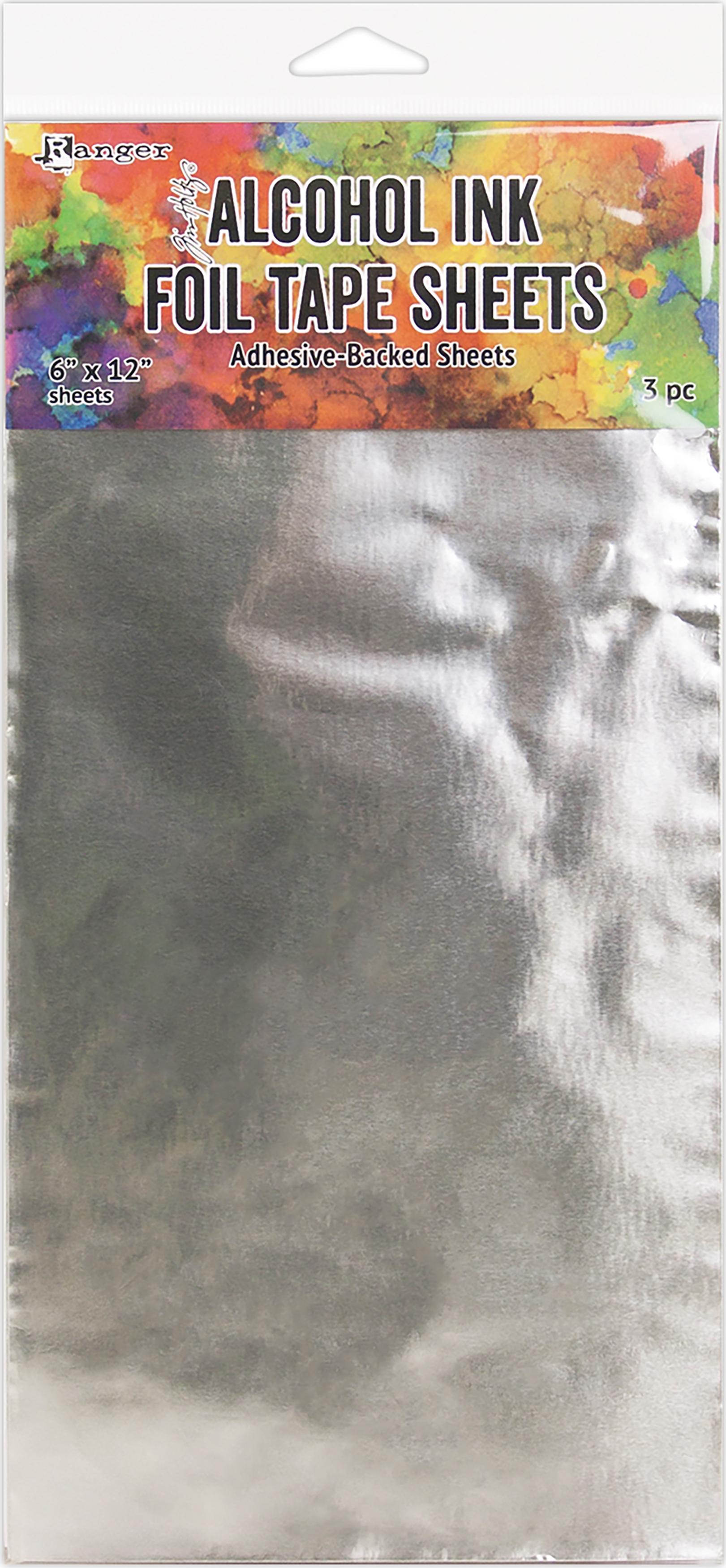 Alcohol Ink Foil Sheet 6x12