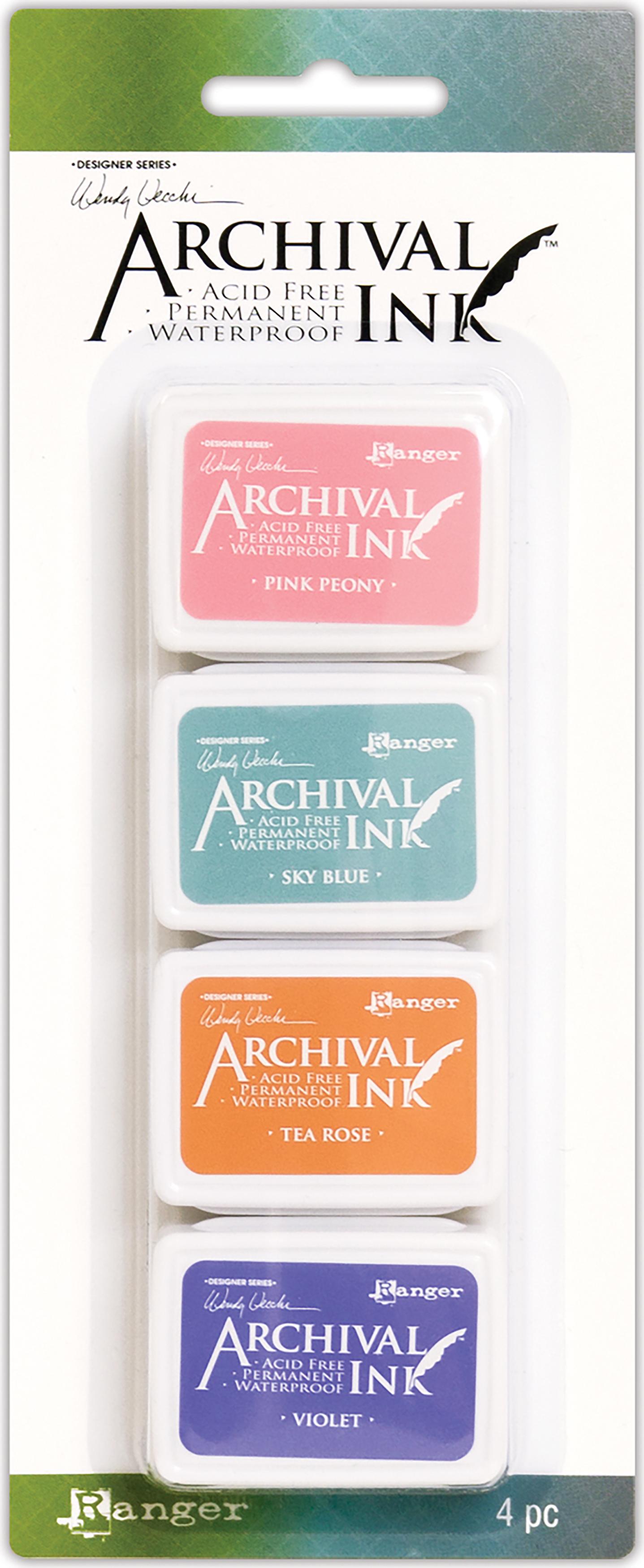 Wendy Vecchi Mini Archival Ink Pads-Set #3