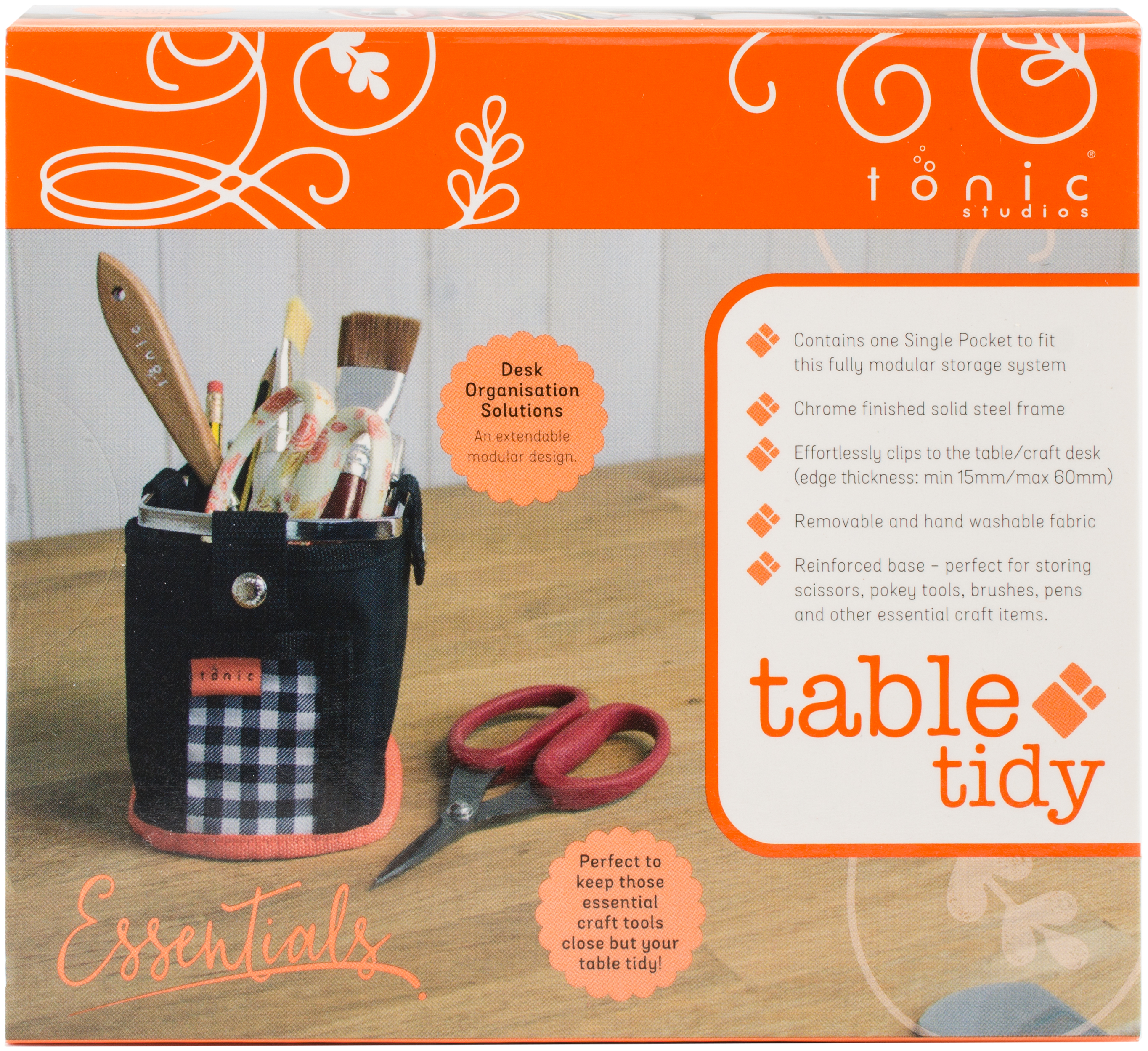 Table Tidy Single Pocket