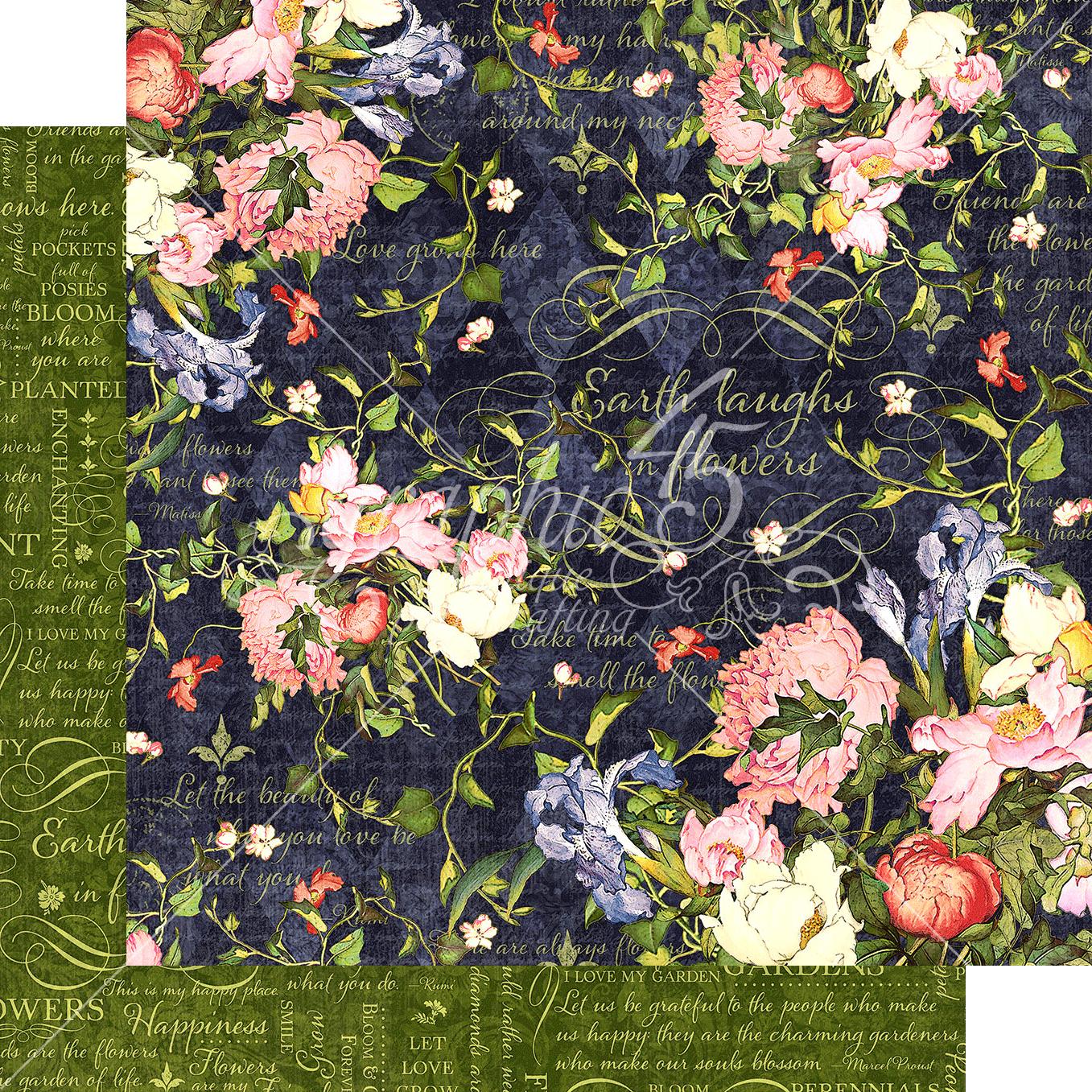 Floral Shoppe Midnight Medley