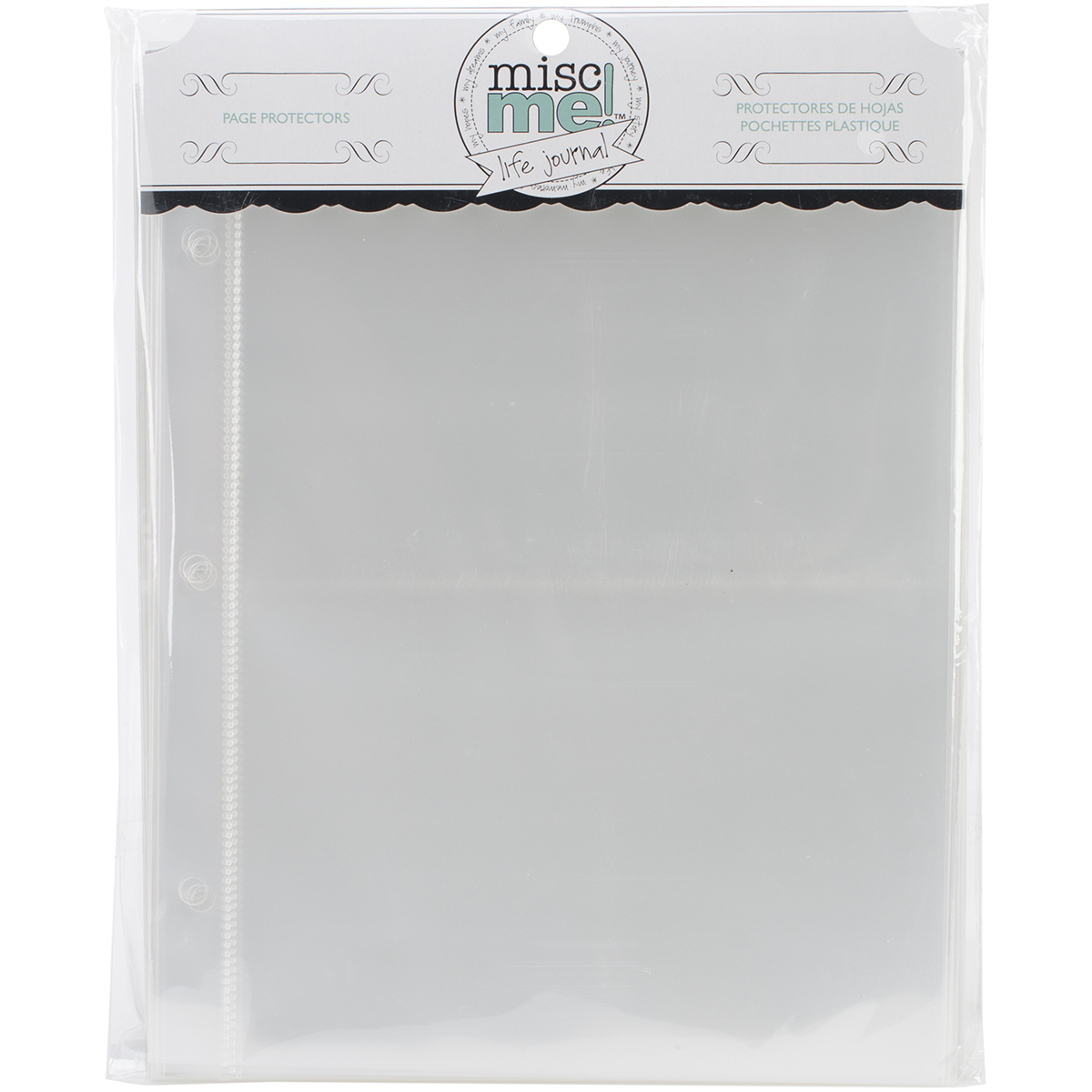 BoBunny Misc Me Page Protectors 8X6 40/Pkg-Variety Pack