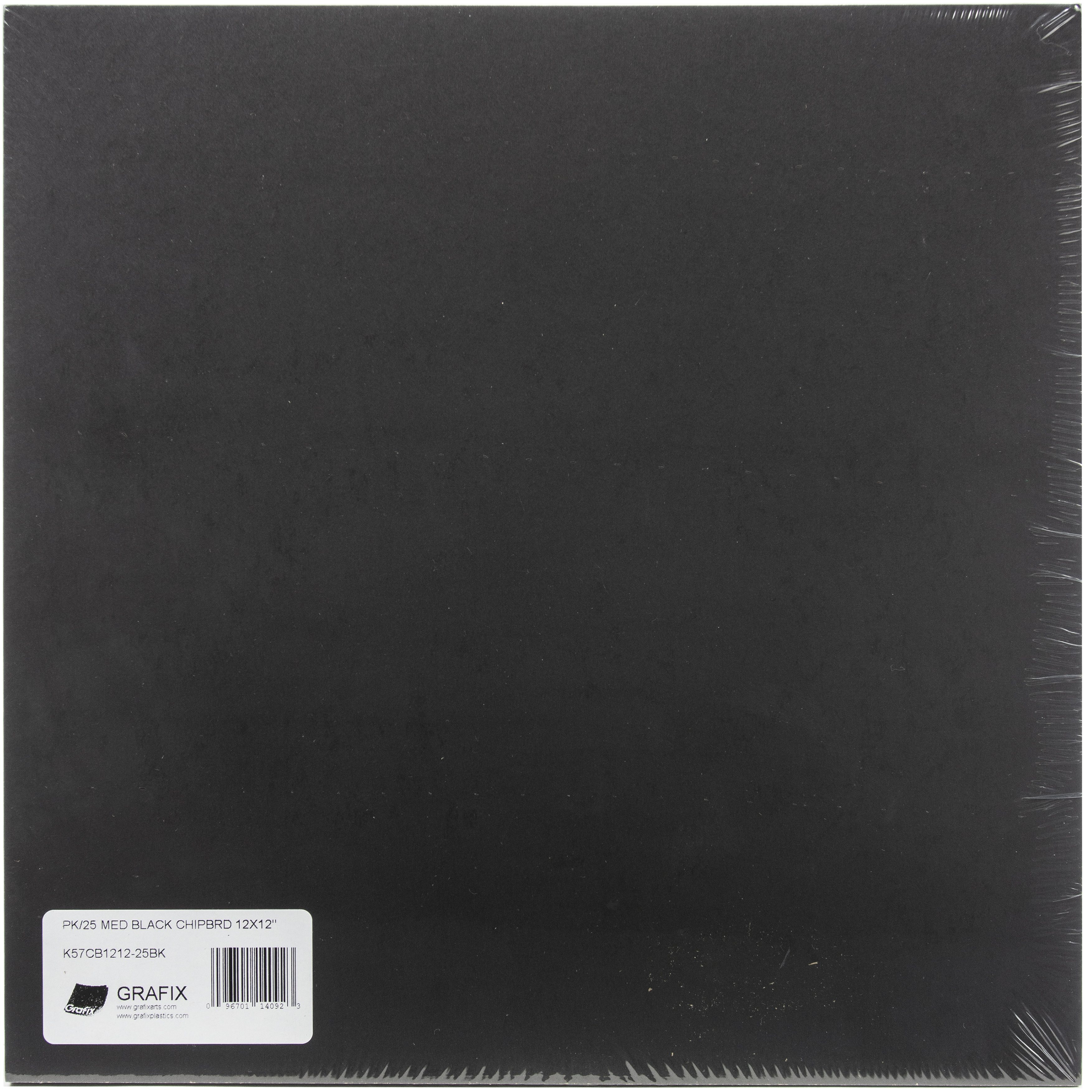 Chipboard Sheets Black