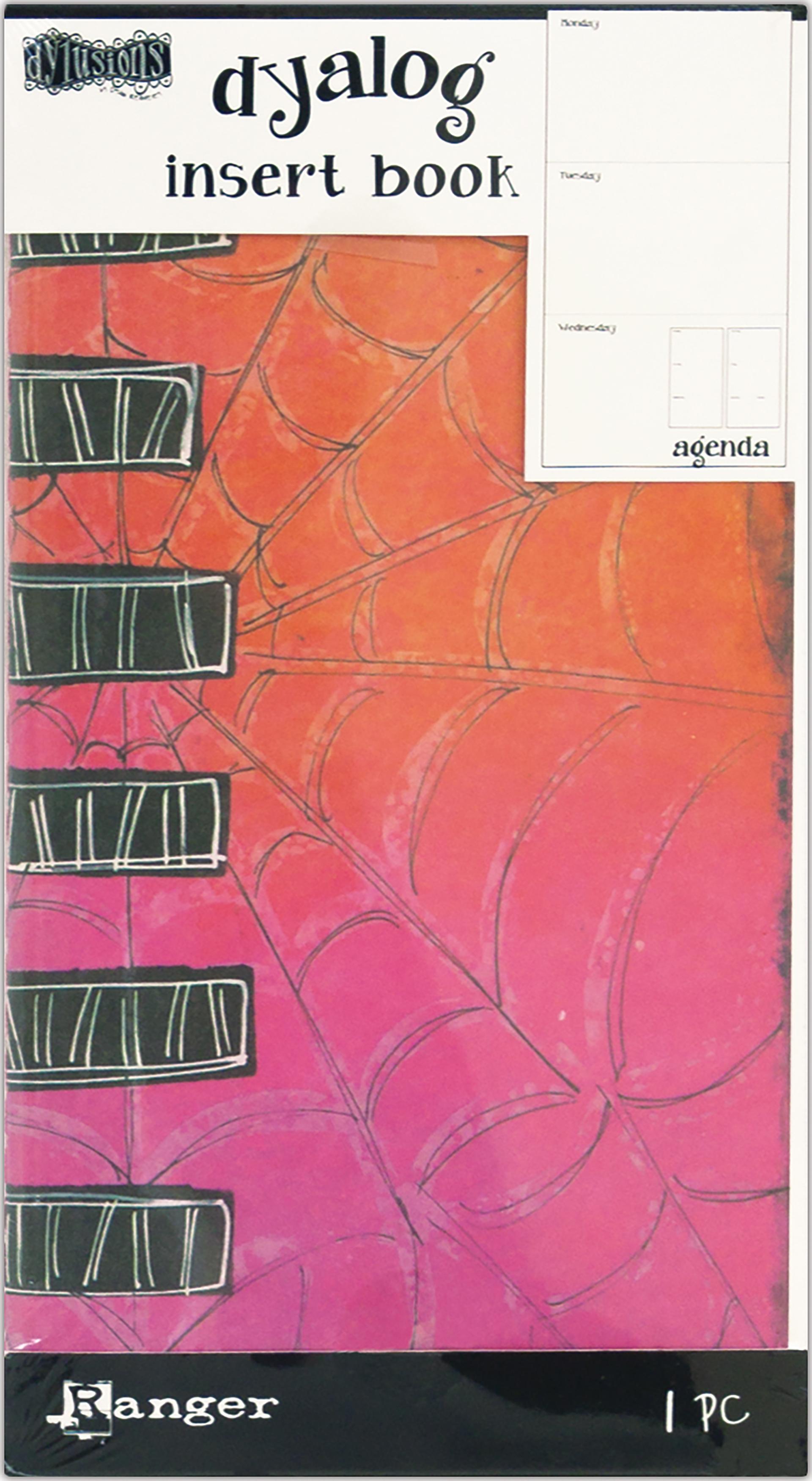 Dyan Reaveley's Dylusions Dyalog Insert Book 4.375X8.25-Agenda