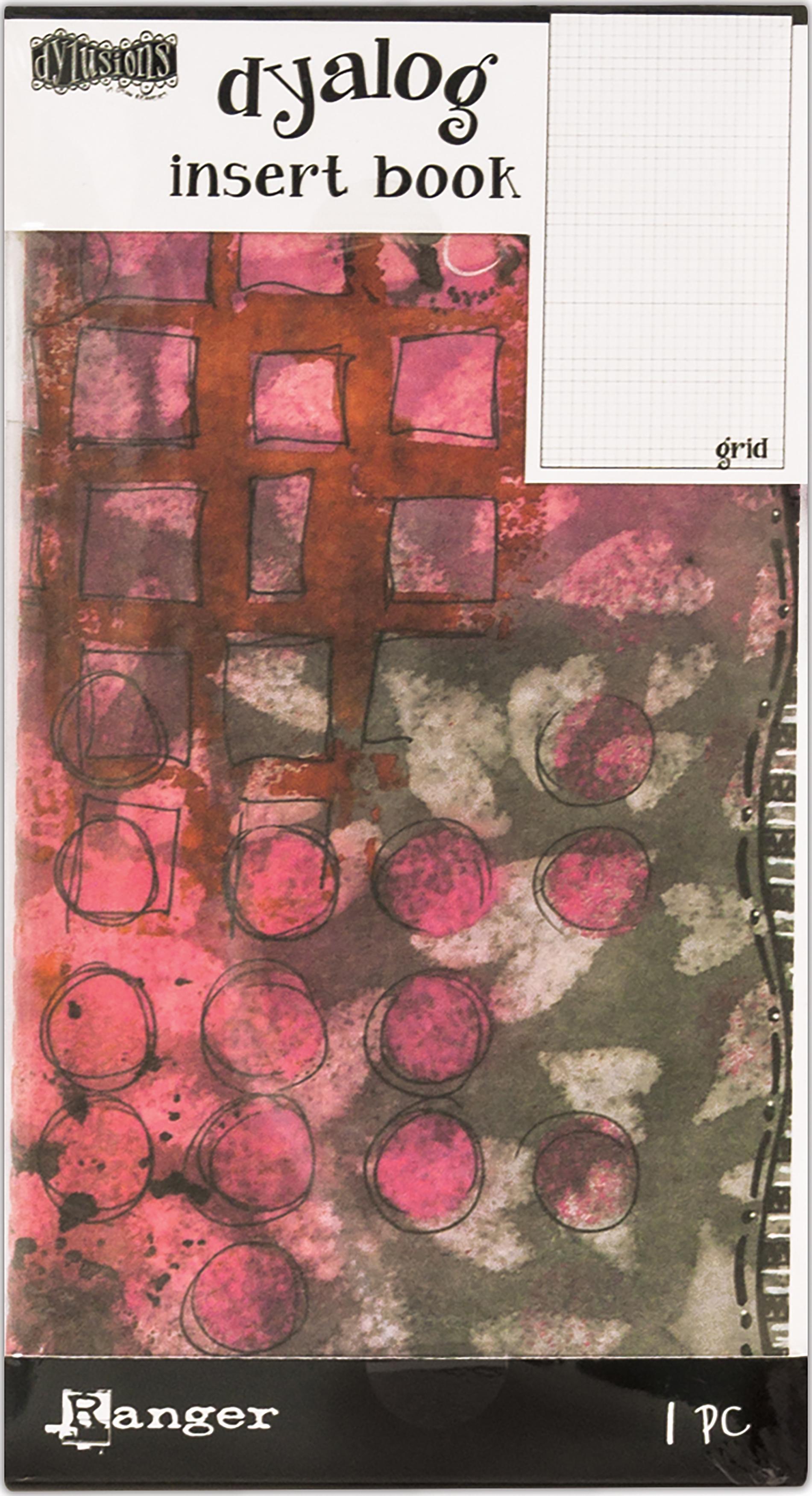 Dyan Reaveley's Dylusions Dyalog Insert Book 4.375X8.25-Grid
