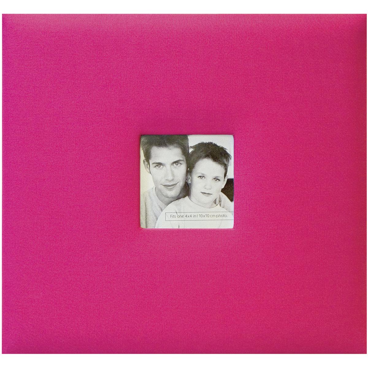 Hot Pink Fashion Fabric 8X8