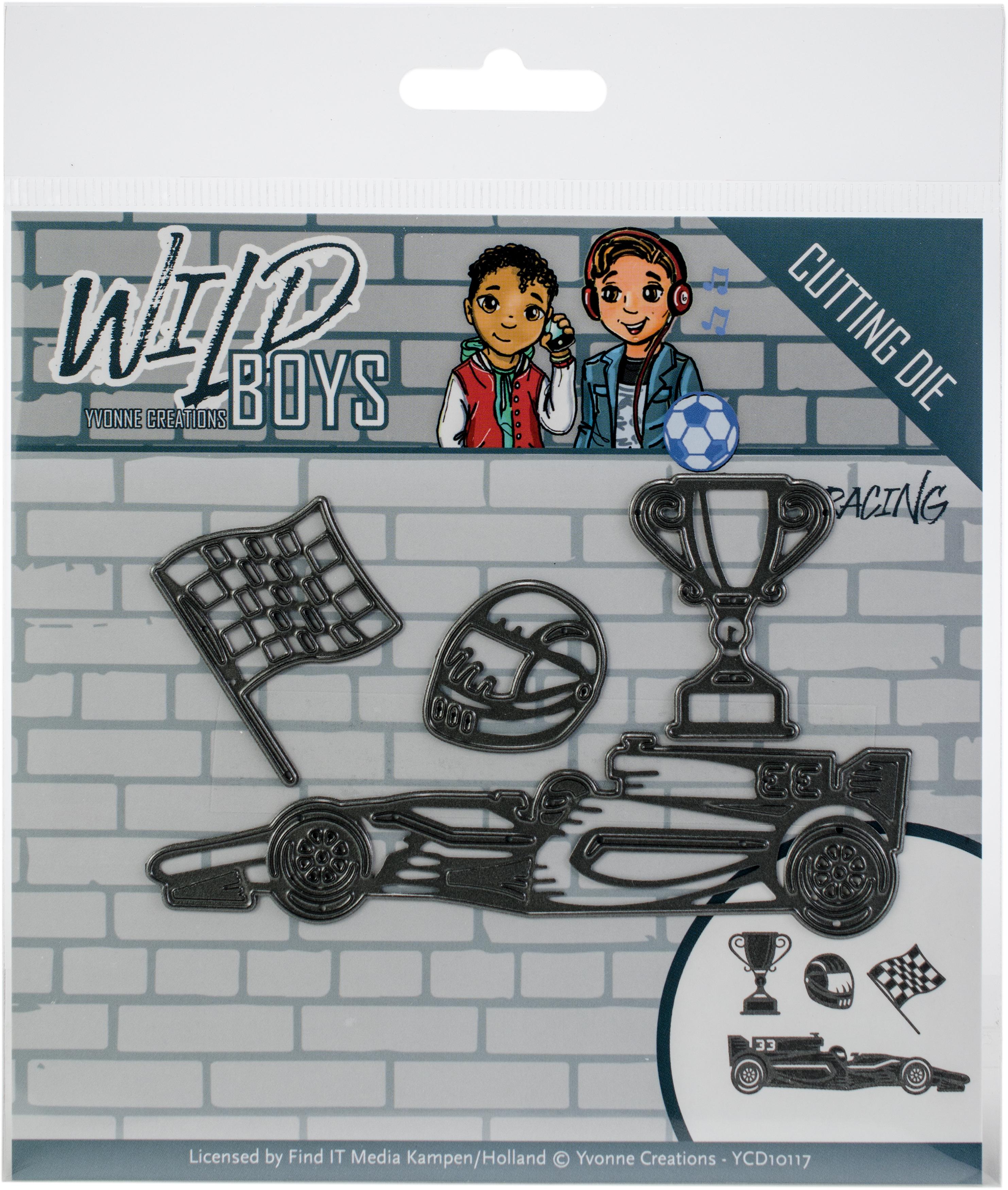 Find It Trading Yvonne Creations Die-Racing, Wild Boys