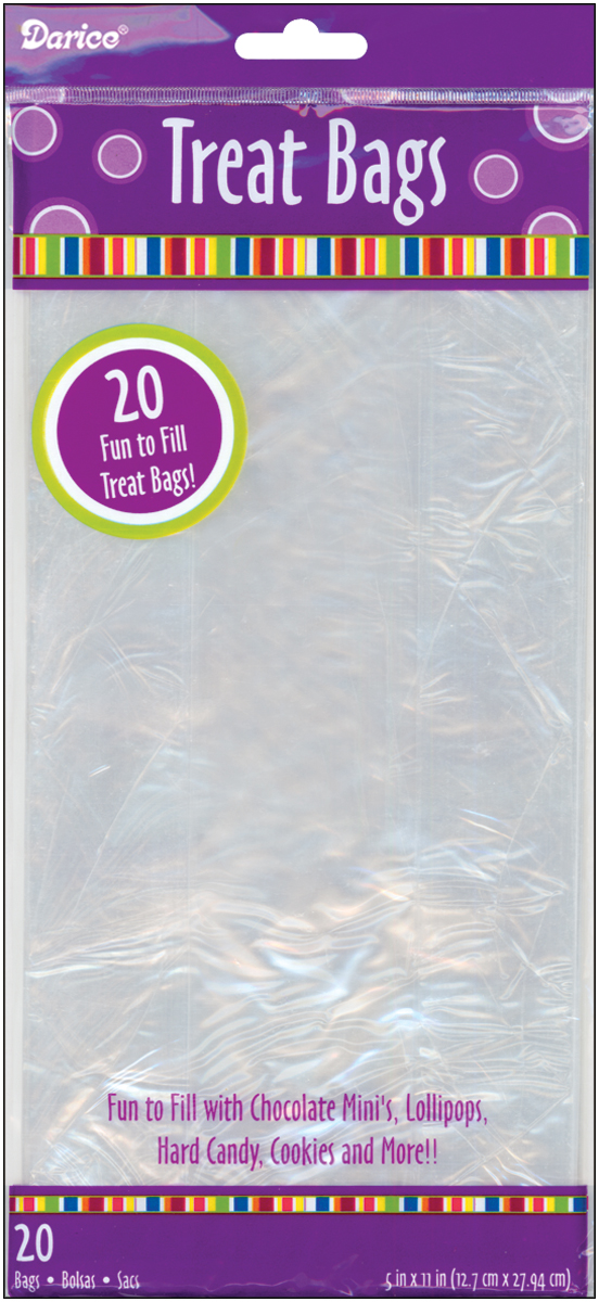 clear treat bags
