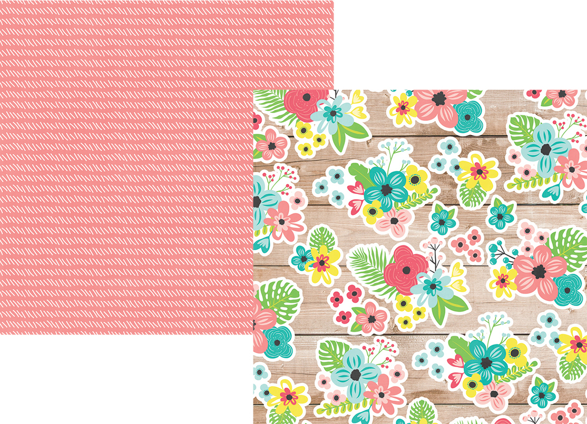Hello Summer Double-Sided Cardstock 12X12-Paradise Found
