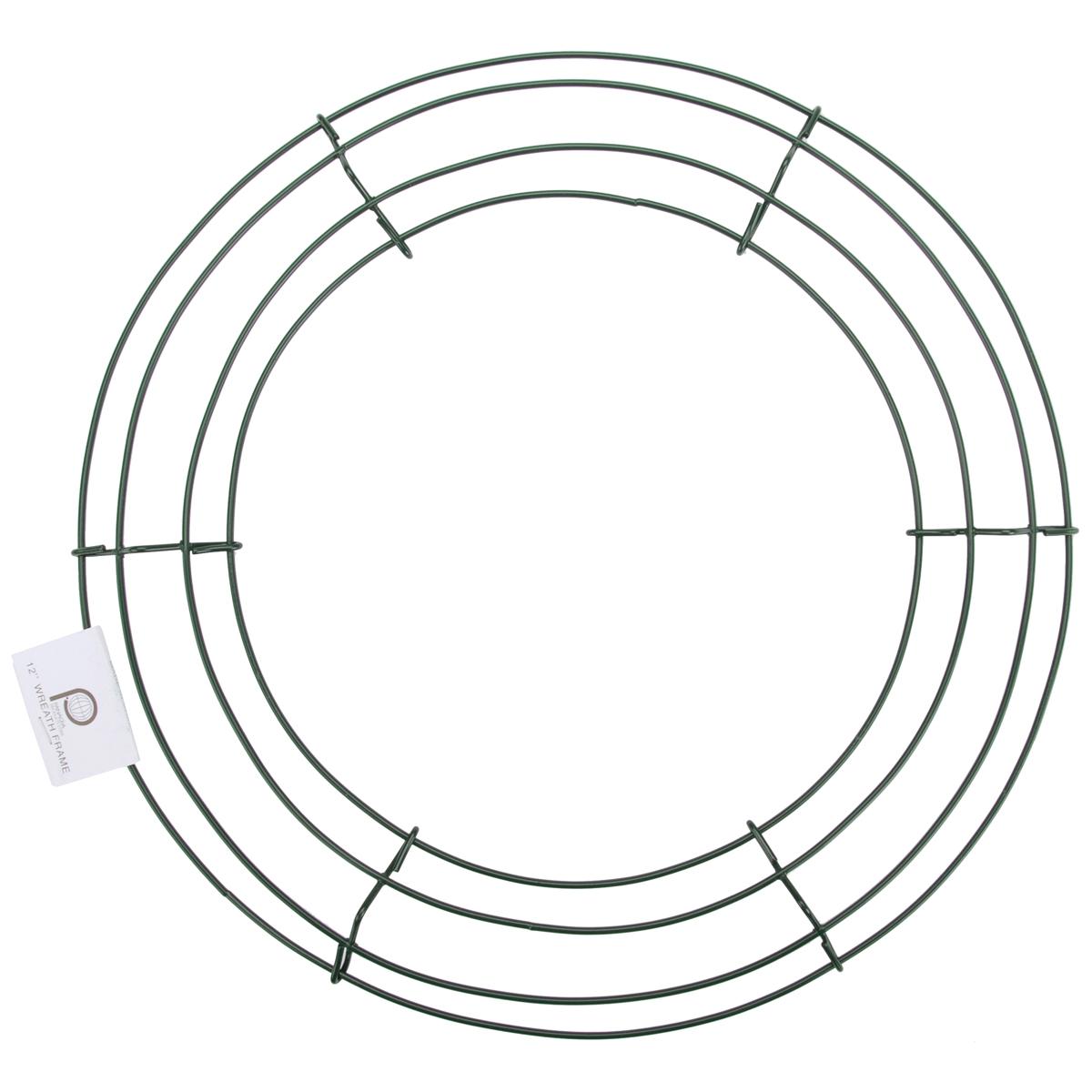 Wire Wreath Frame-18