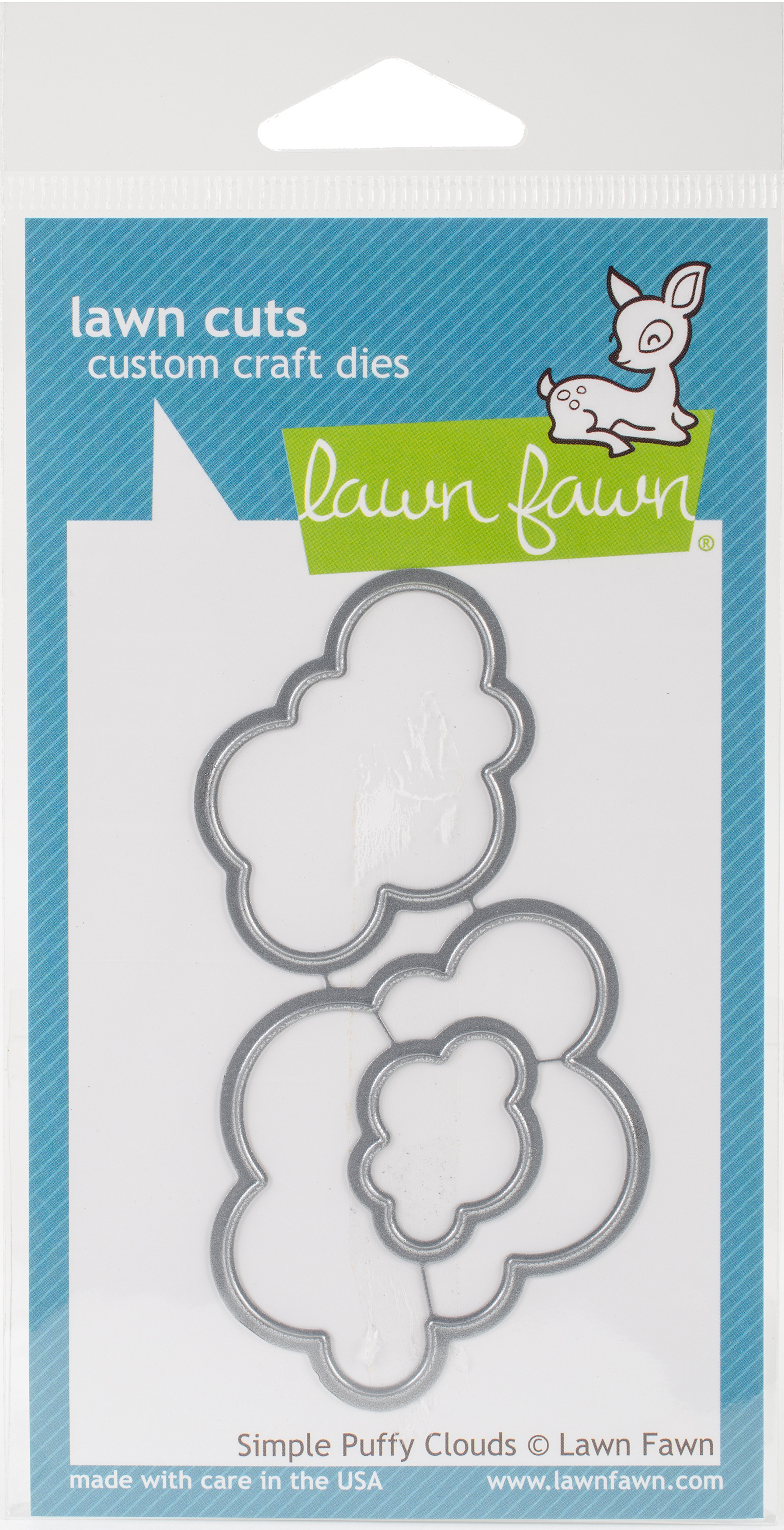 Lawn Cuts Custom Craft Die-Simple Puffy Clouds