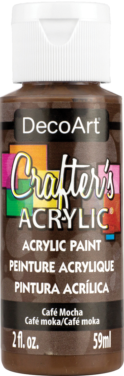 Crafter's Acrylic All-Purpose Paint 2oz-Cafe Mocha