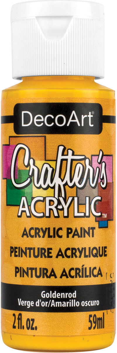 Crafter's Acrylic All-Purpose Paint 2oz-Goldenrod