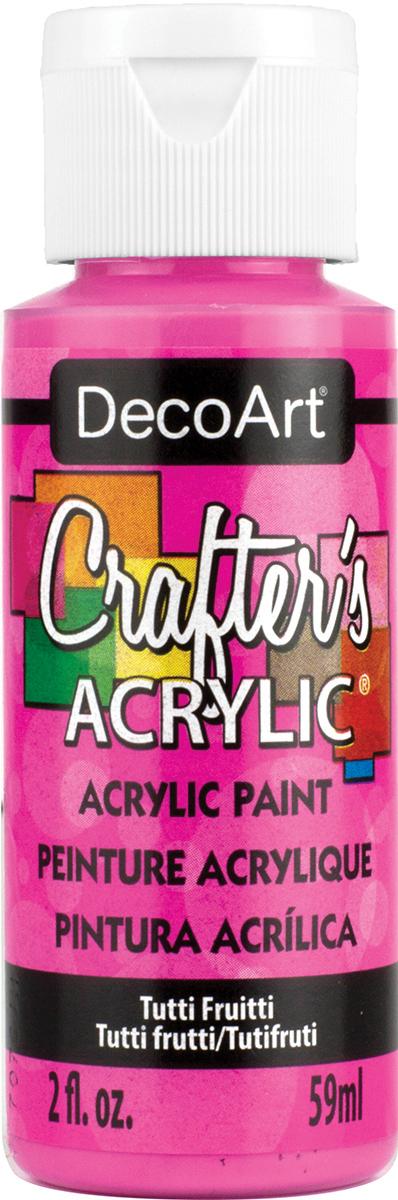 Crafter's Acrylic All-Purpose Paint 2oz-Tutti Fruitti