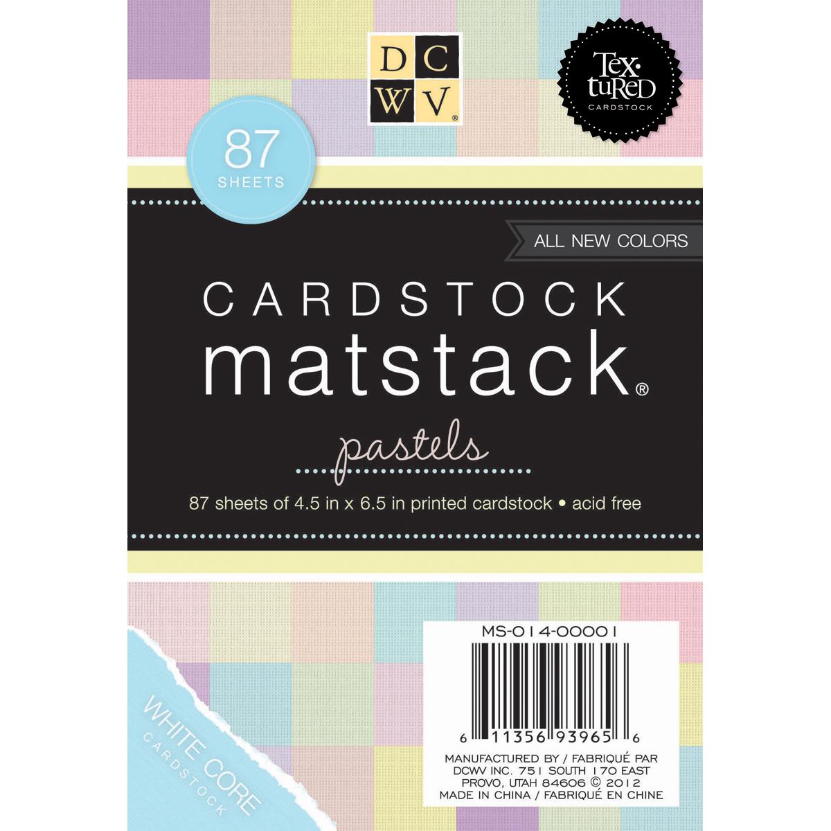 Mat Stack Pastels