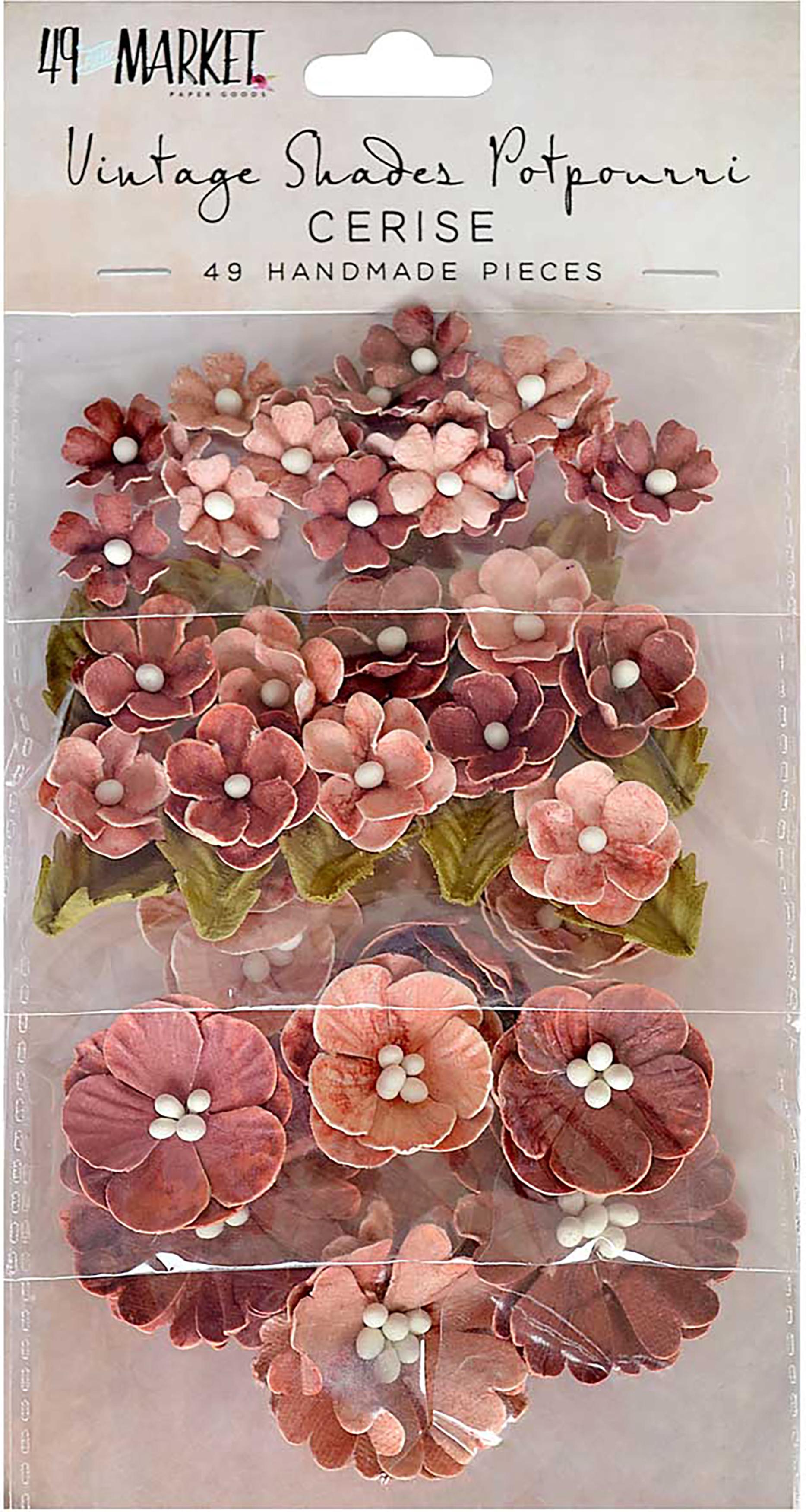 Vintage Shades-Cerise Potpourri