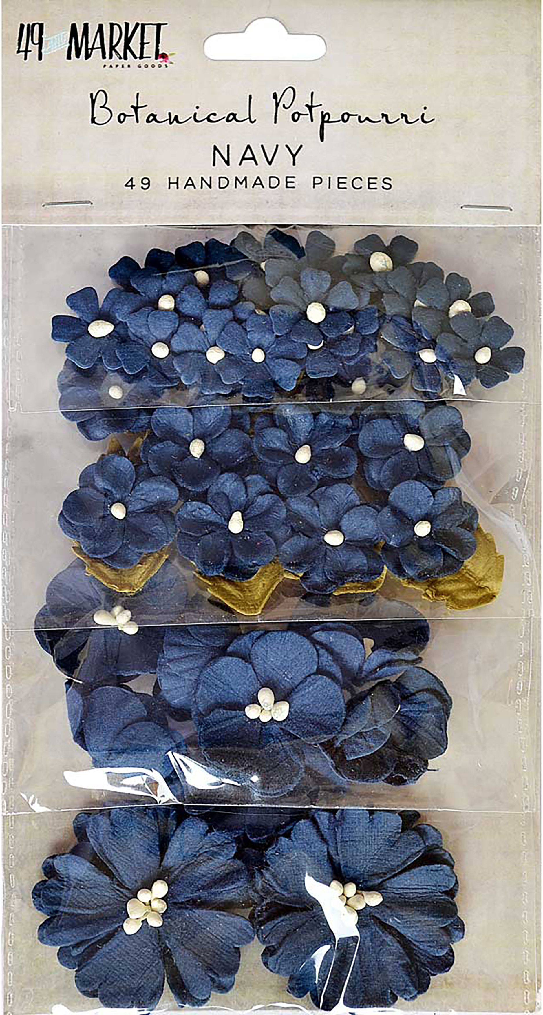 49 And Market Botanical Potpourri Flowers 49/Pkg-Shadow