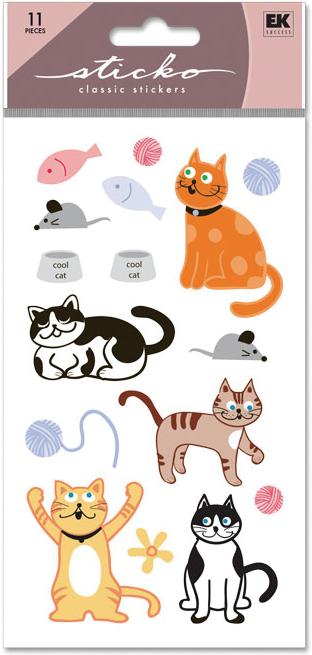 EK Sticko Sticker Cat