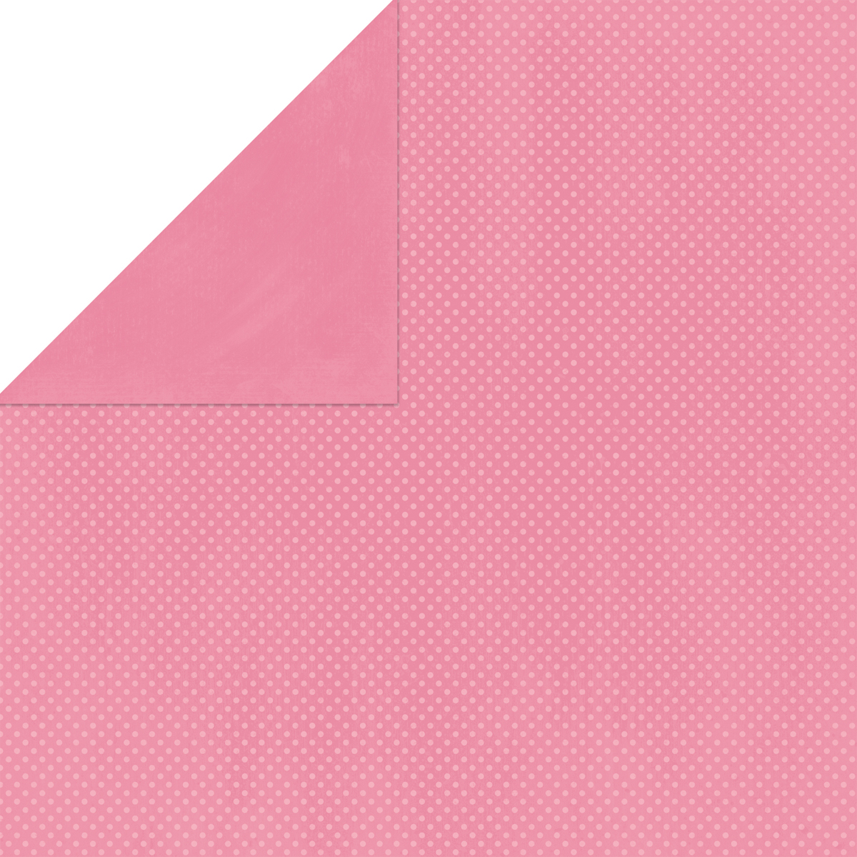 BoBunny Double Dot Double-Sided Textured Cardstock 12X12-Dusty Rose