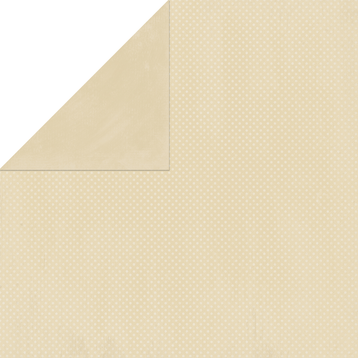 BoBunny Double Dot Double-Sided Textured Cardstock 12X12-Almond