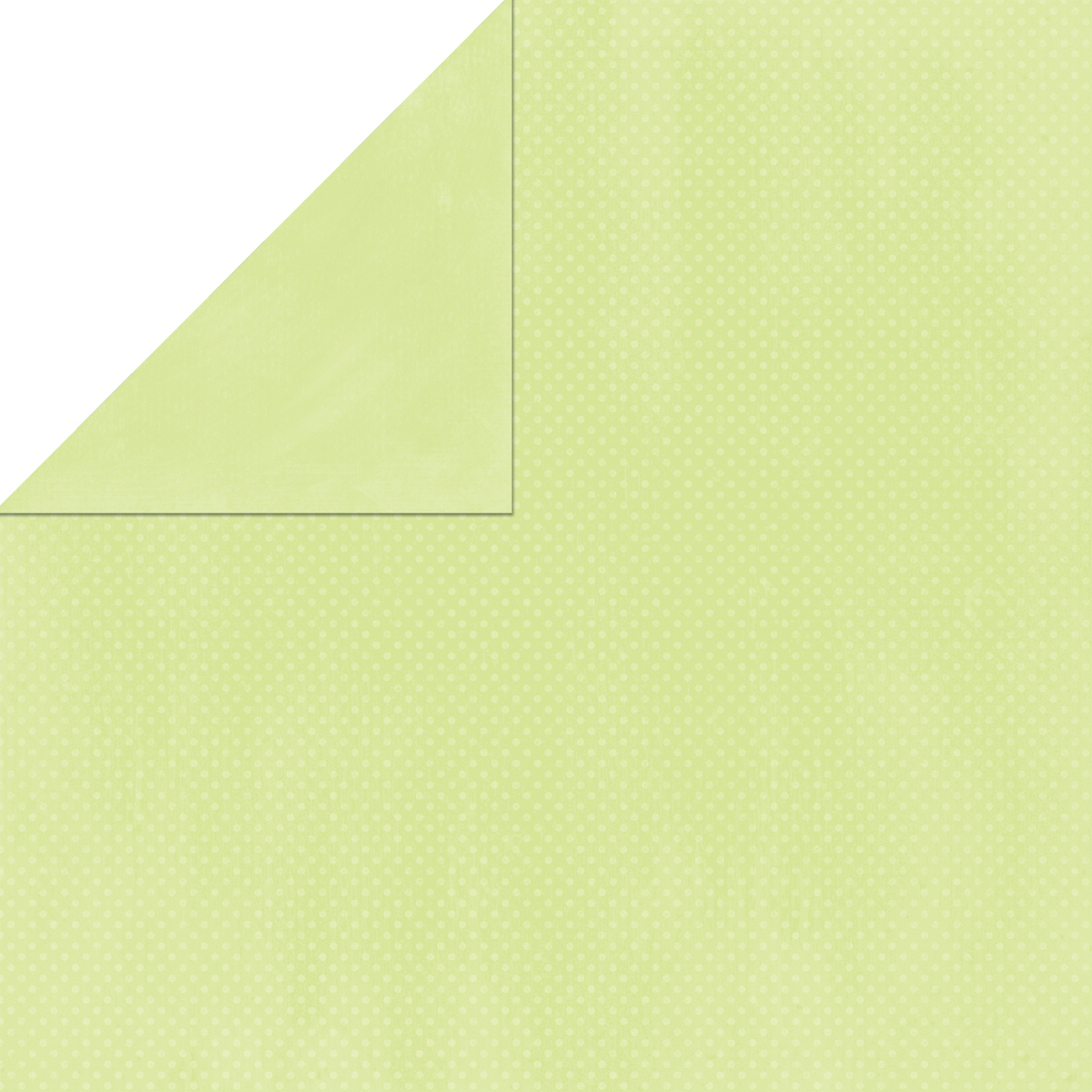 BoBunny Double Dot Double-Sided Textured Cardstock 12X12-Mint